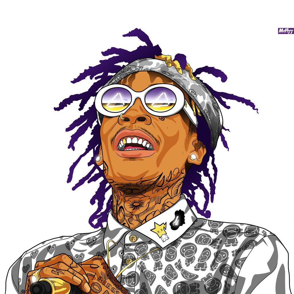 Wiz Khalifa Cartoon Wallpapers Top Free Wiz Khalifa Cartoon