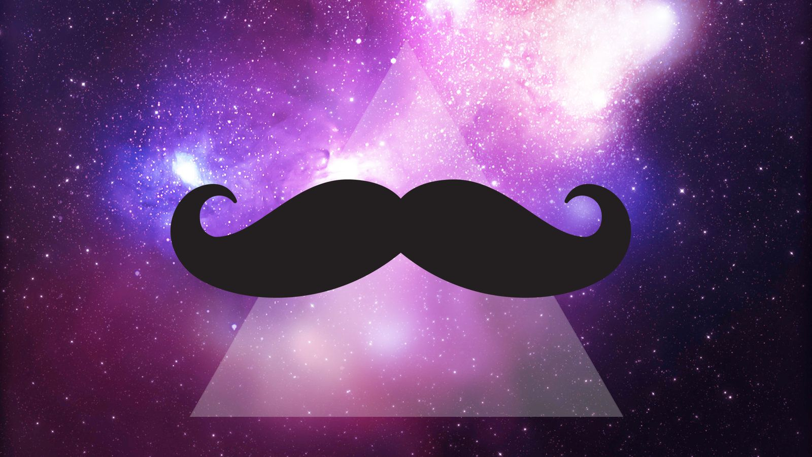Galaxy Mustache Wallpapers - Top Free