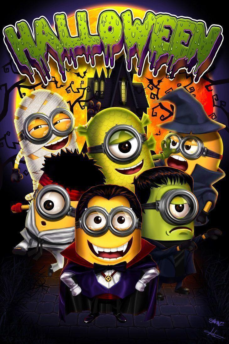 Minion Halloween Wallpapers Top Free Minion Halloween