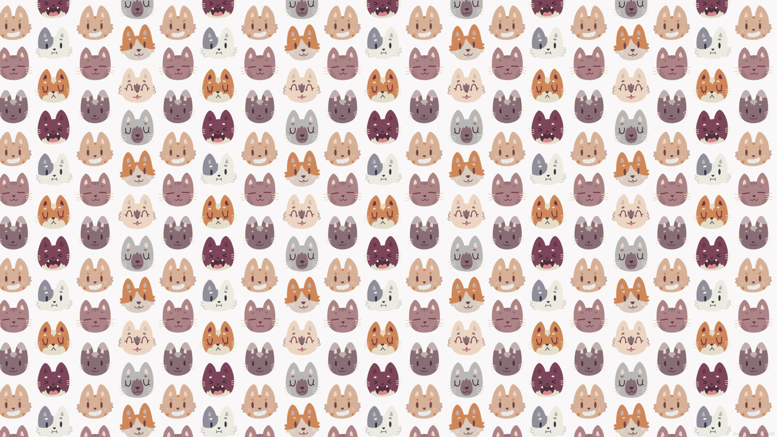 Cat Pattern Wallpapers Top Free Cat Pattern Backgrounds Wallpaperaccess