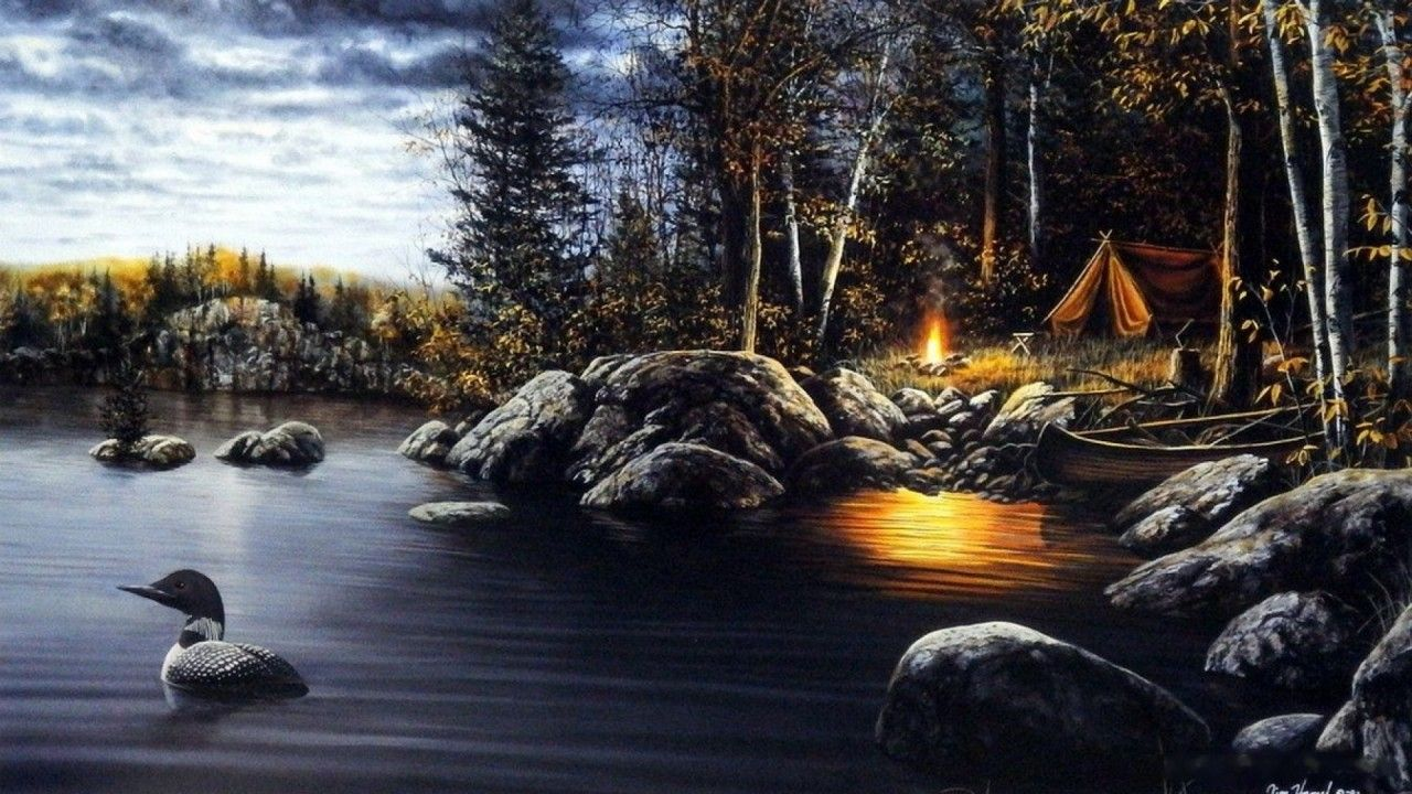 Camping Scenes Wallpapers Top Free Camping Scenes Backgrounds Wallpaperaccess