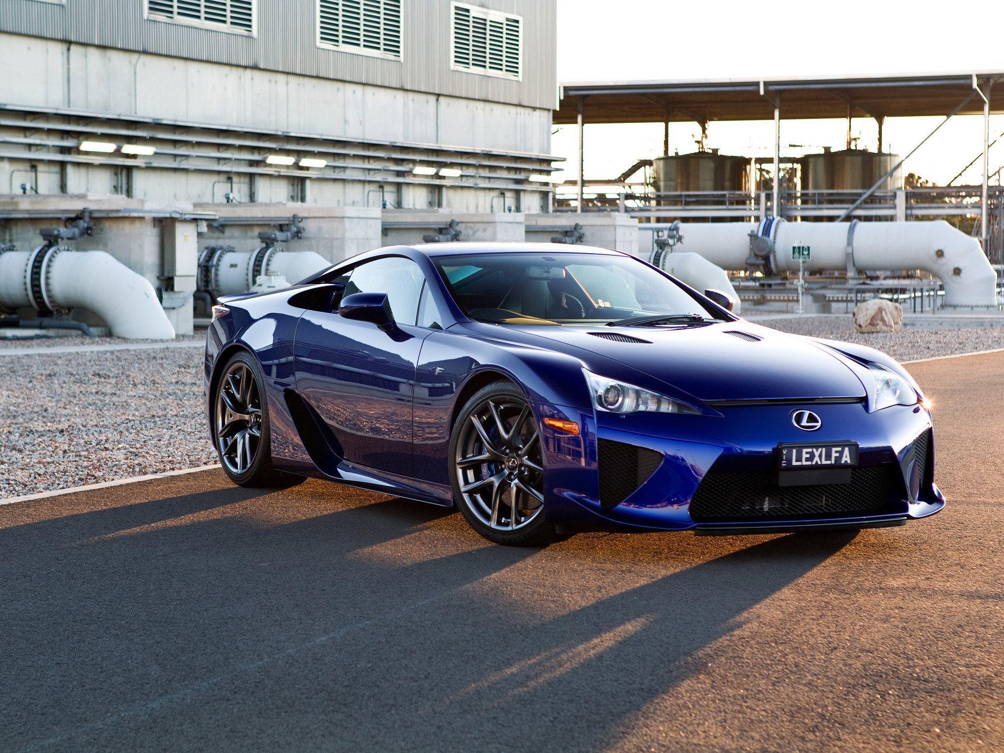 58 Best Free 2009 Lexus Lfa Super Car Wallpapers Wallpaperaccess
