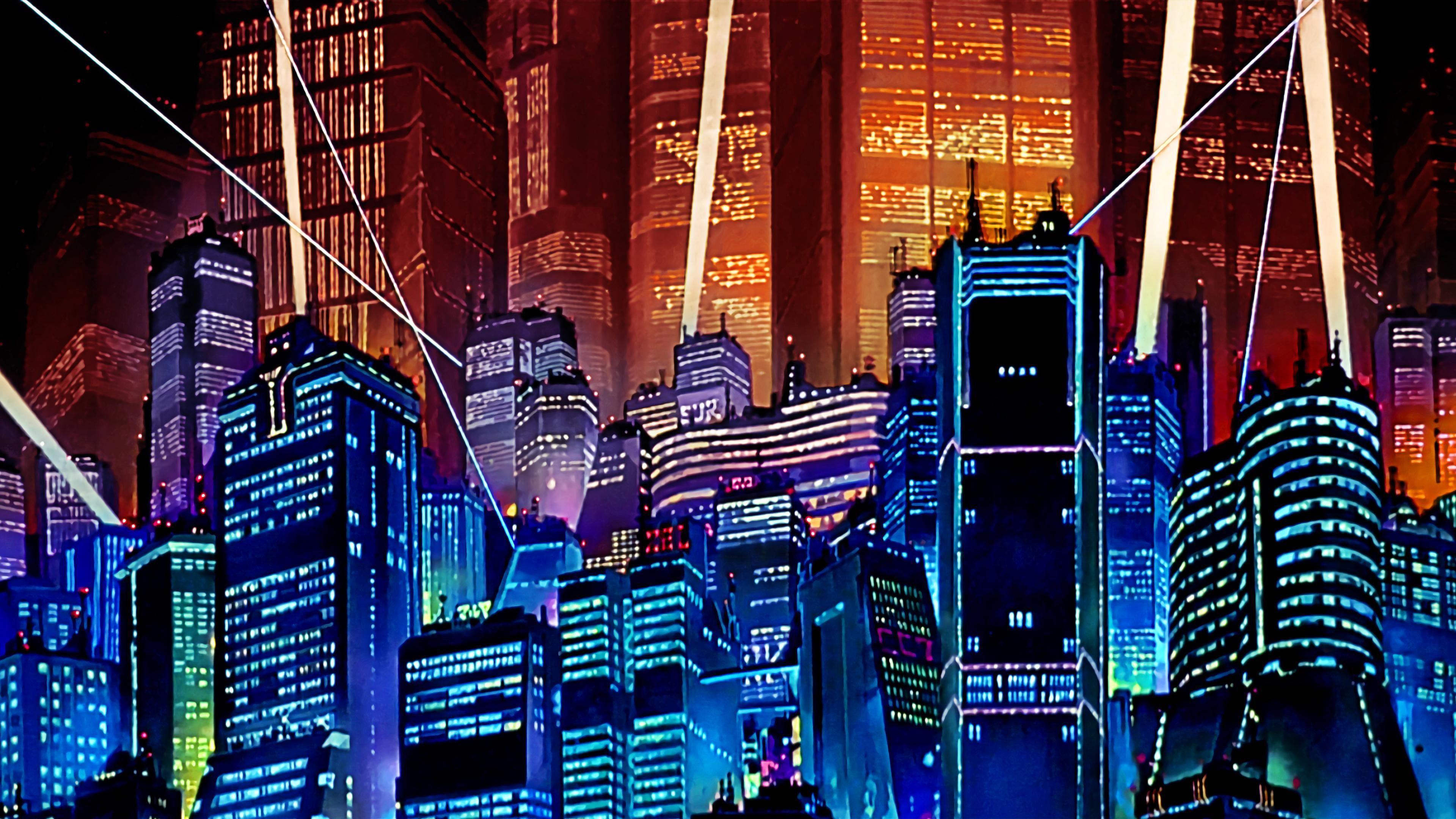Akira Neo Tokyo Wallpapers Top Free Akira Neo Tokyo Backgrounds Wallpaperaccess