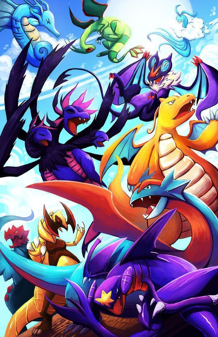 Dragon Pokemon Wallpapers Top Free Dragon Pokemon Backgrounds Wallpaperaccess