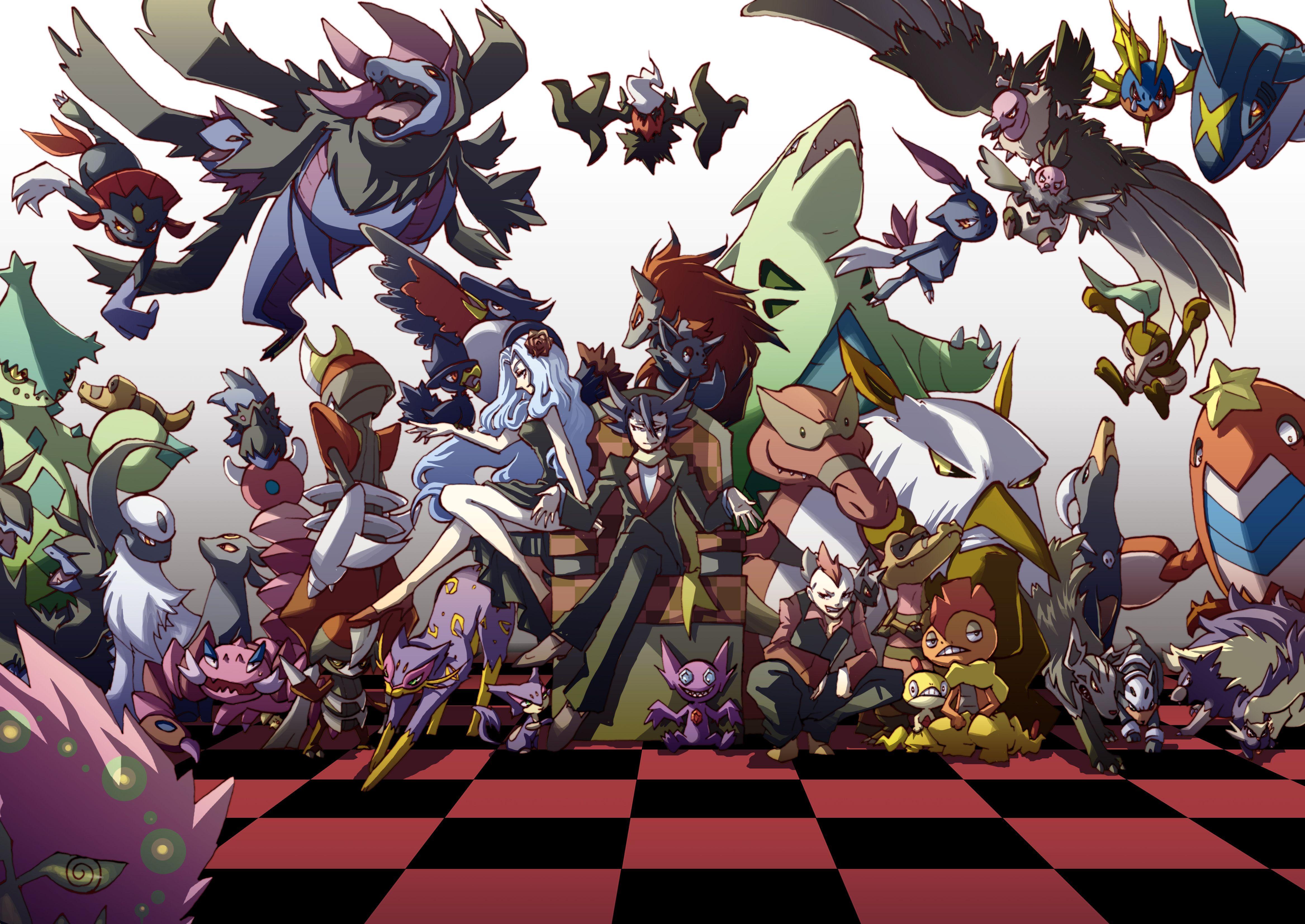 Dark Pokemon Wallpapers Top Free Dark Pokemon Backgrounds Wallpaperaccess