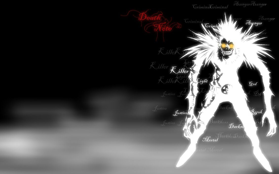 Death Note Ryuk Wallpapers