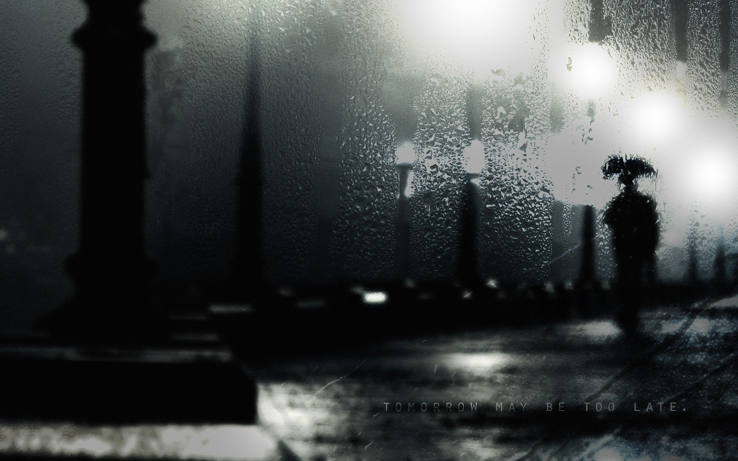 Rainy Night Wallpapers Top Free Rainy Night Backgrounds