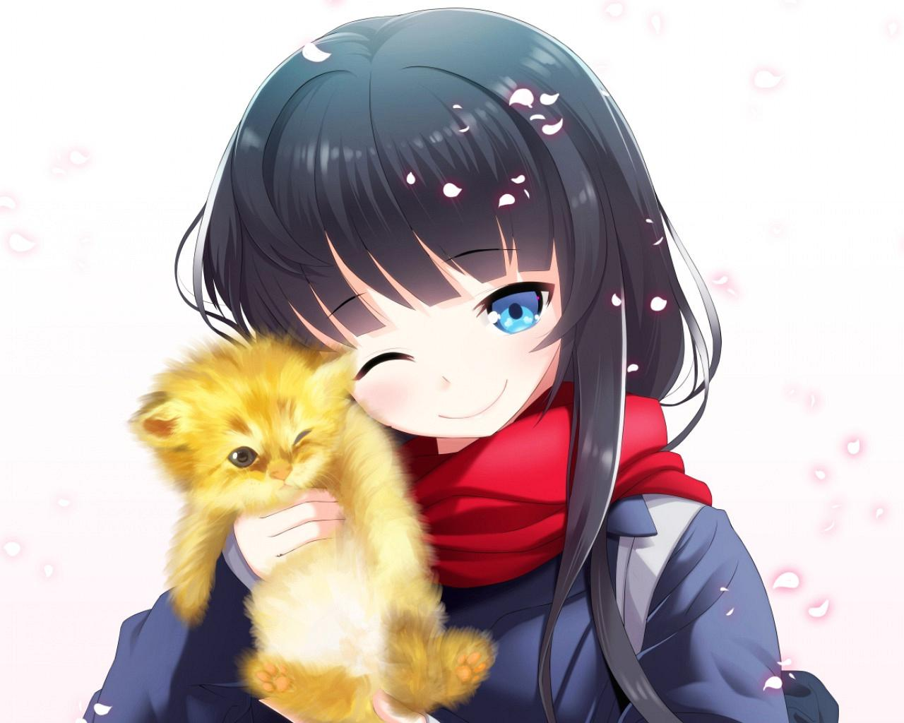 1920x1200 anime girl