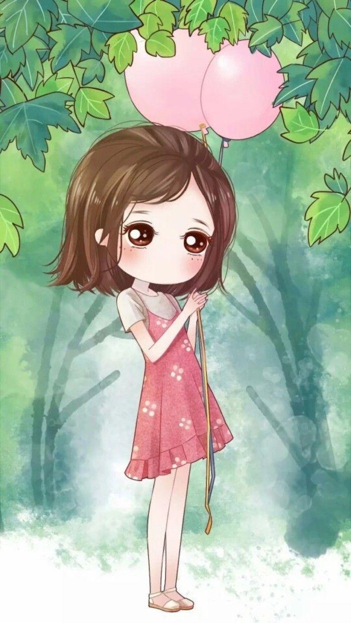 Japanese cartoon cute girly wallpapers top free japanese - Cartoon girl wallpaper ...