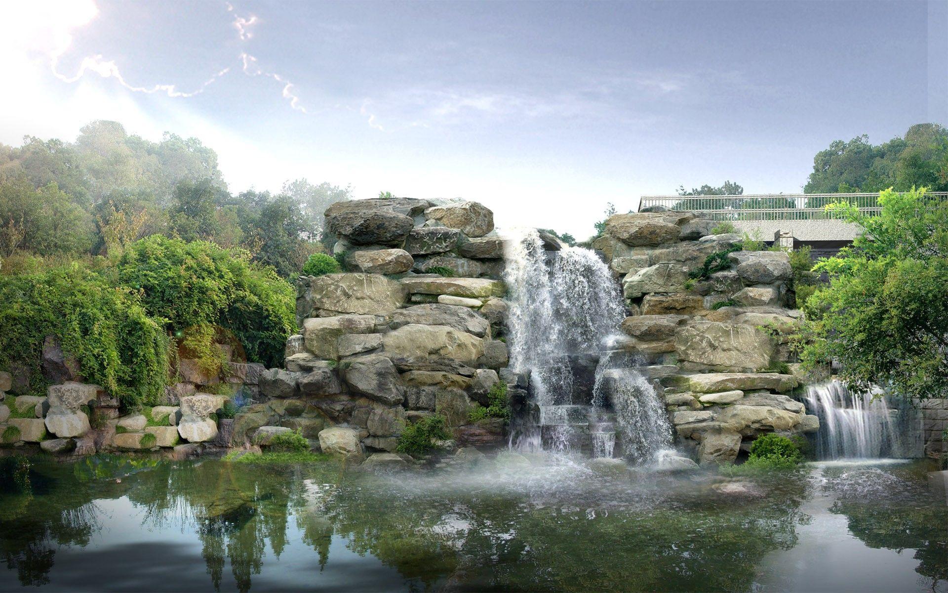 Japanese Waterfall Wallpapers - Top