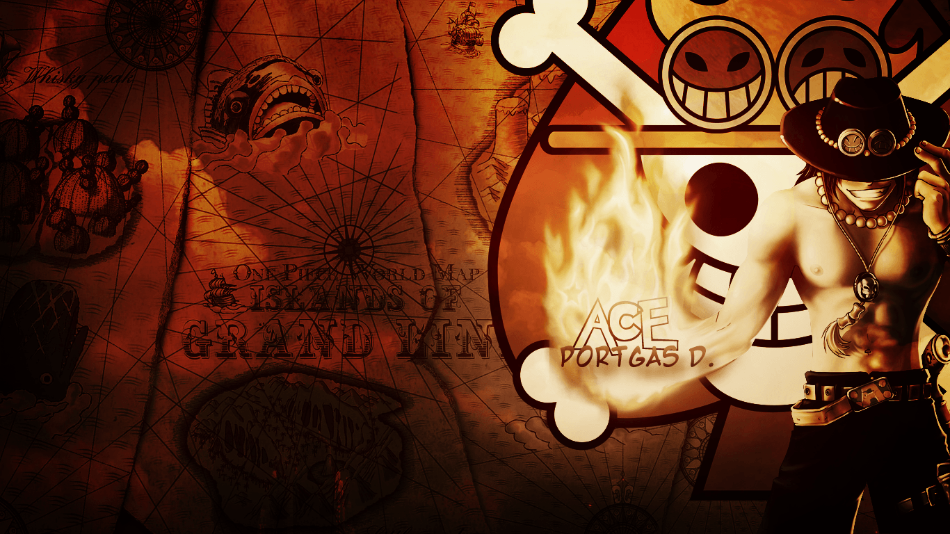 One Piece Ace Wallpapers Top Free One Piece Ace