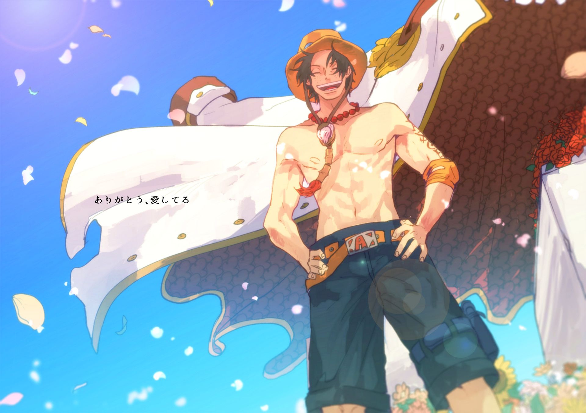 One Piece Ace Wallpapers Top Free One Piece Ace Backgrounds Wallpaperaccess