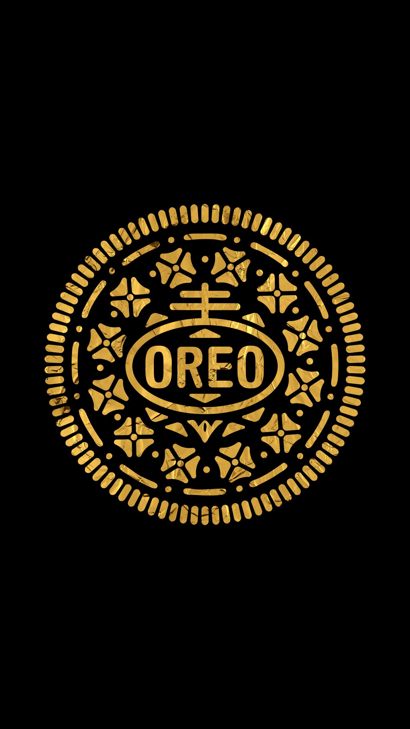 Golden Oreo Logo