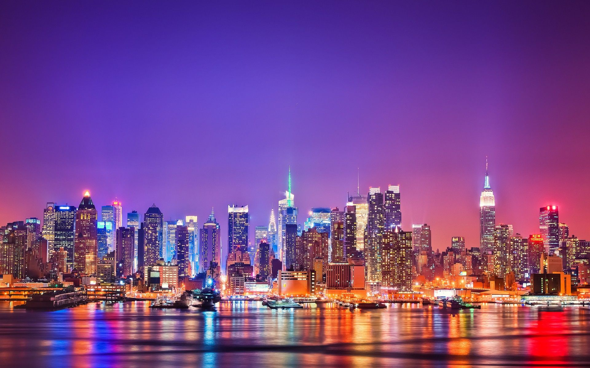 New York Skyline Wallpapers Top Free New York Skyline Backgrounds Wallpaperaccess