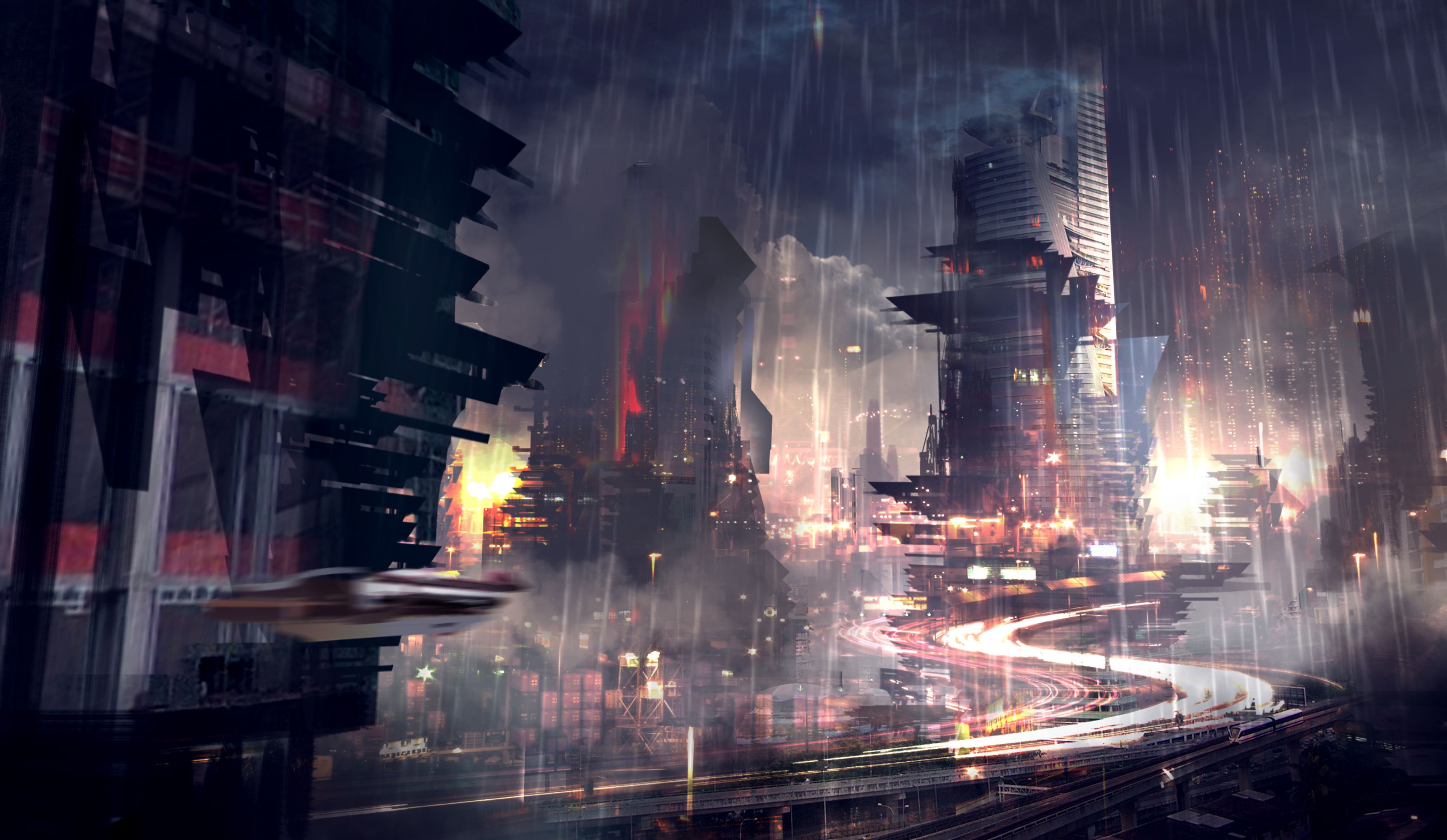 Sci Fi City Wallpapers Top Free Sci Fi City Backgrounds