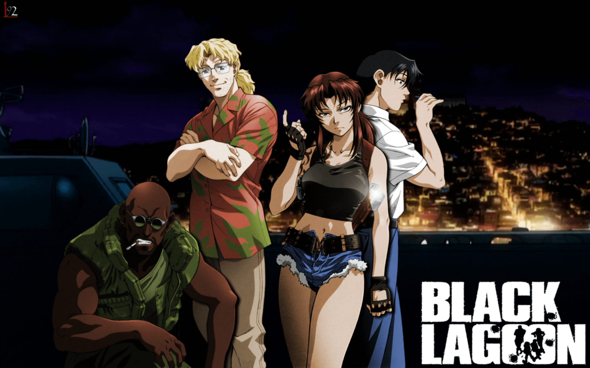 Black Lagoon Wallpapers Top Free Black Lagoon Backgrounds Wallpaperaccess