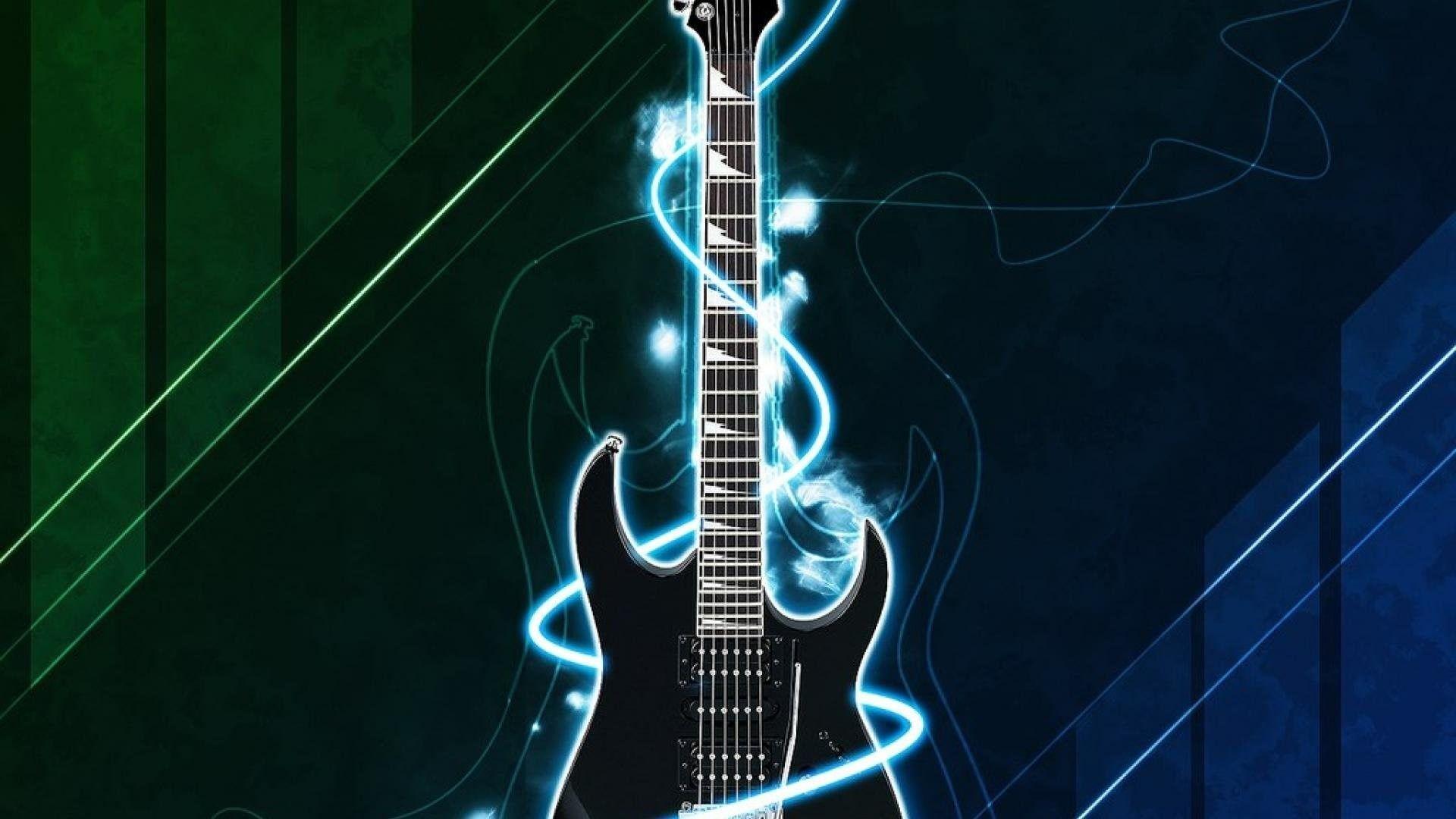 Unduh 600 Wallpaper Biru Gitar  Gratis