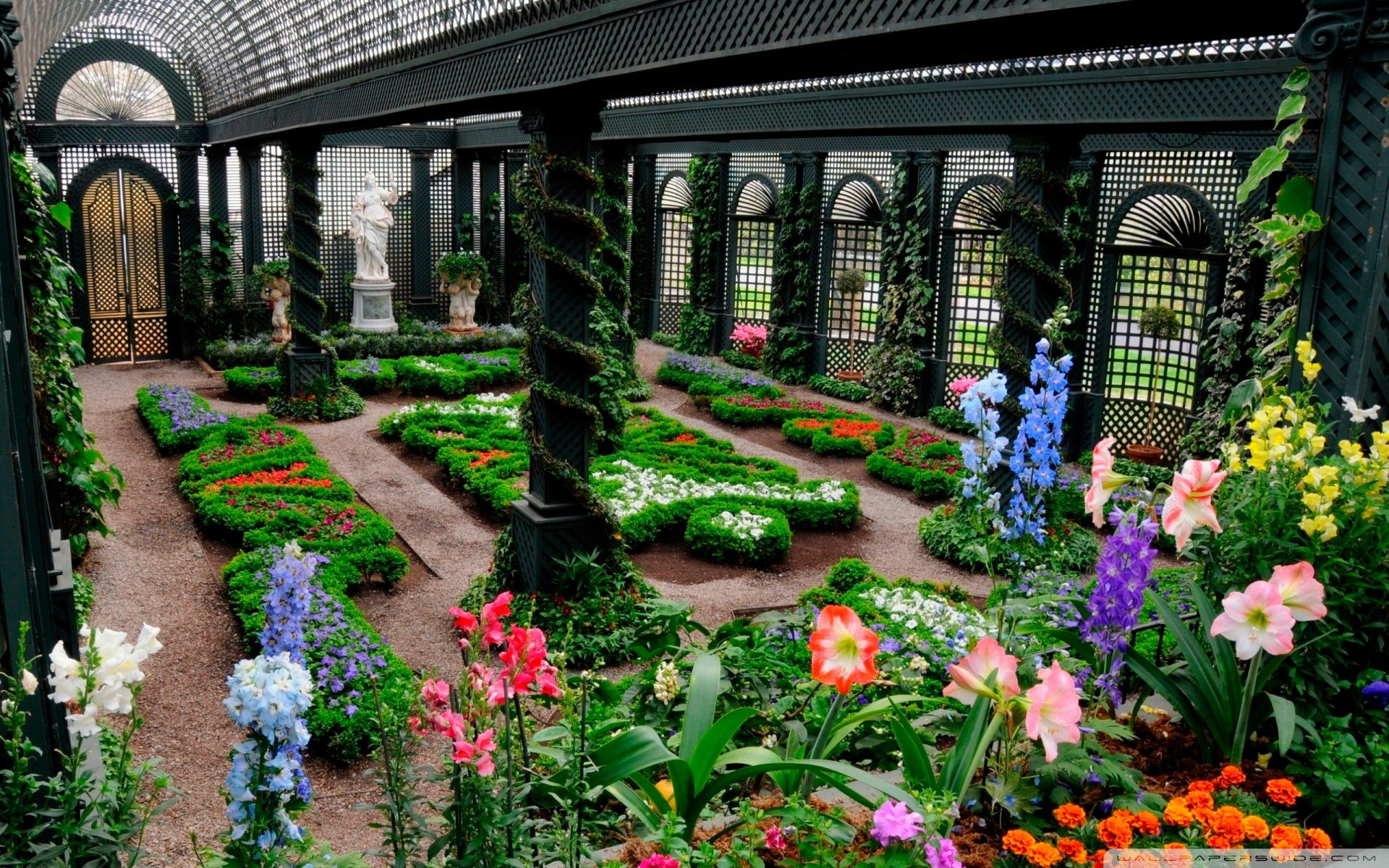 French Garden Wallpapers Top Free French Garden Backgrounds Wallpaperaccess