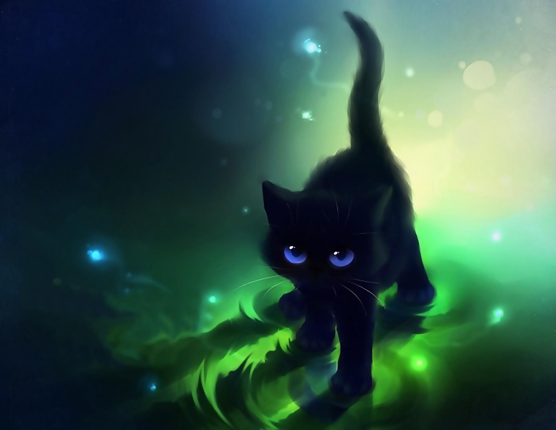 Anime Cat Wallpapers , Top Free Anime Cat Backgrounds