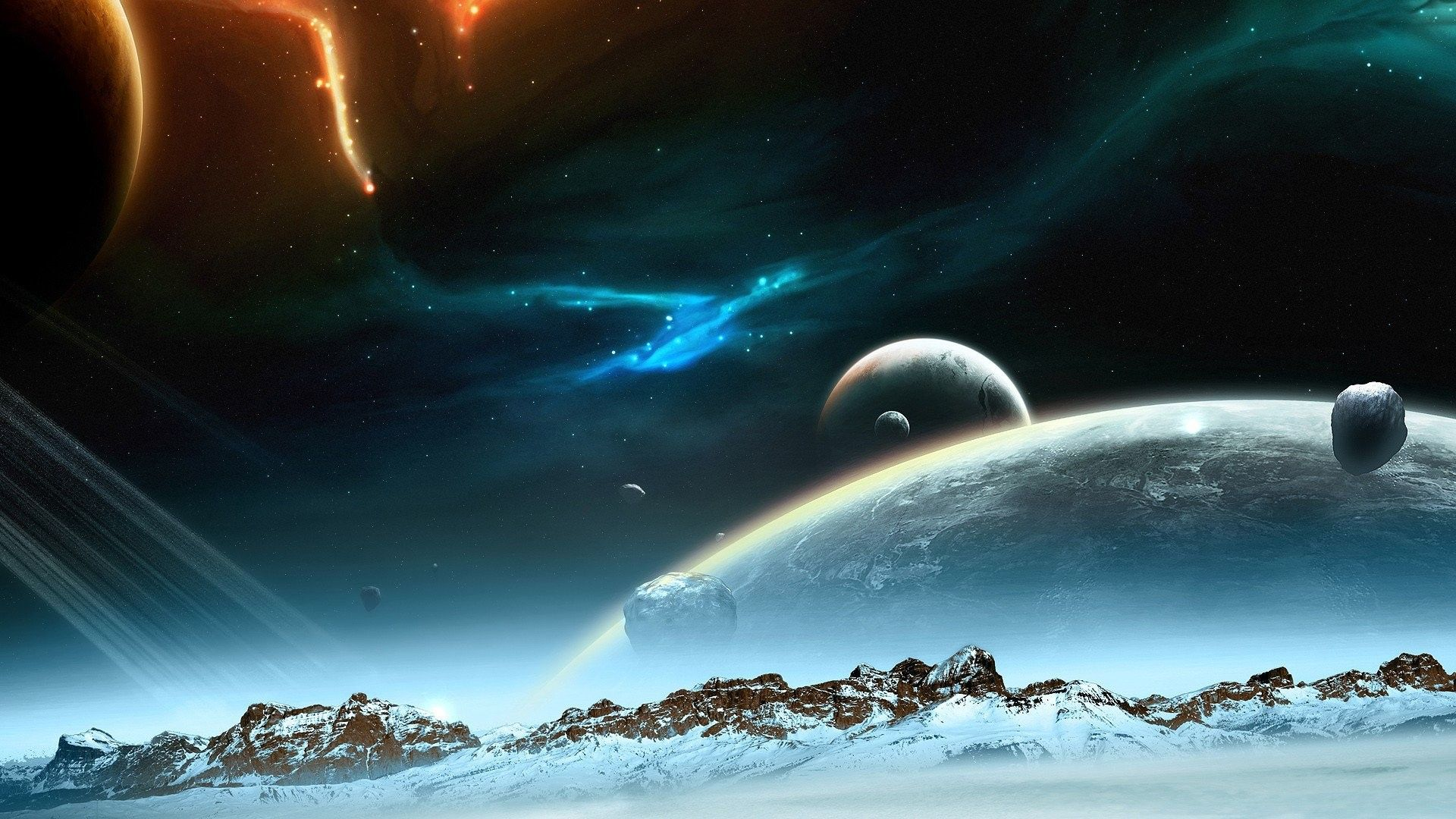 Space Planets Wallpapers Top Free Space Planets