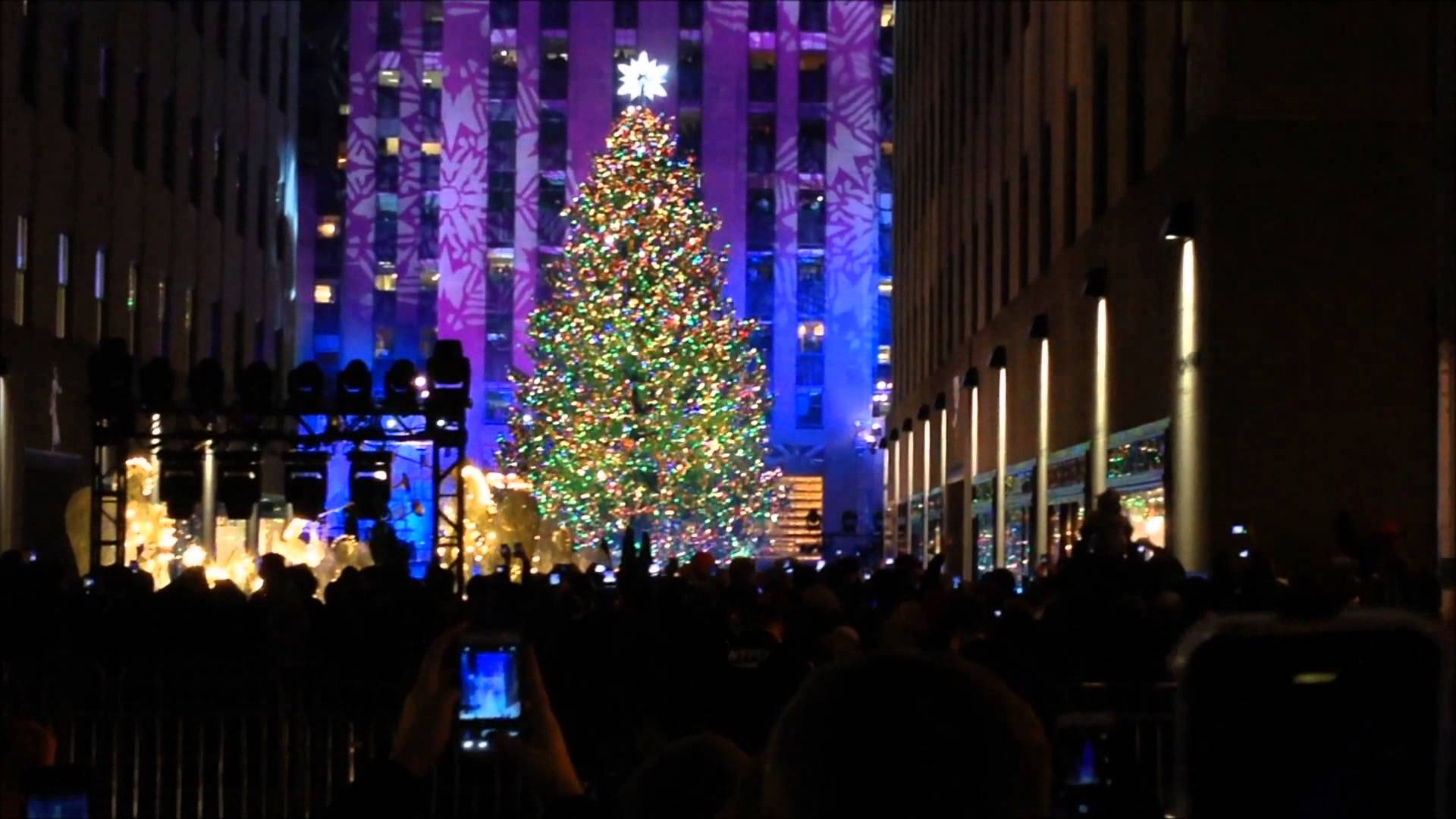 40 Best Free New York Times Square Christmas Tree Wallpapers ...
