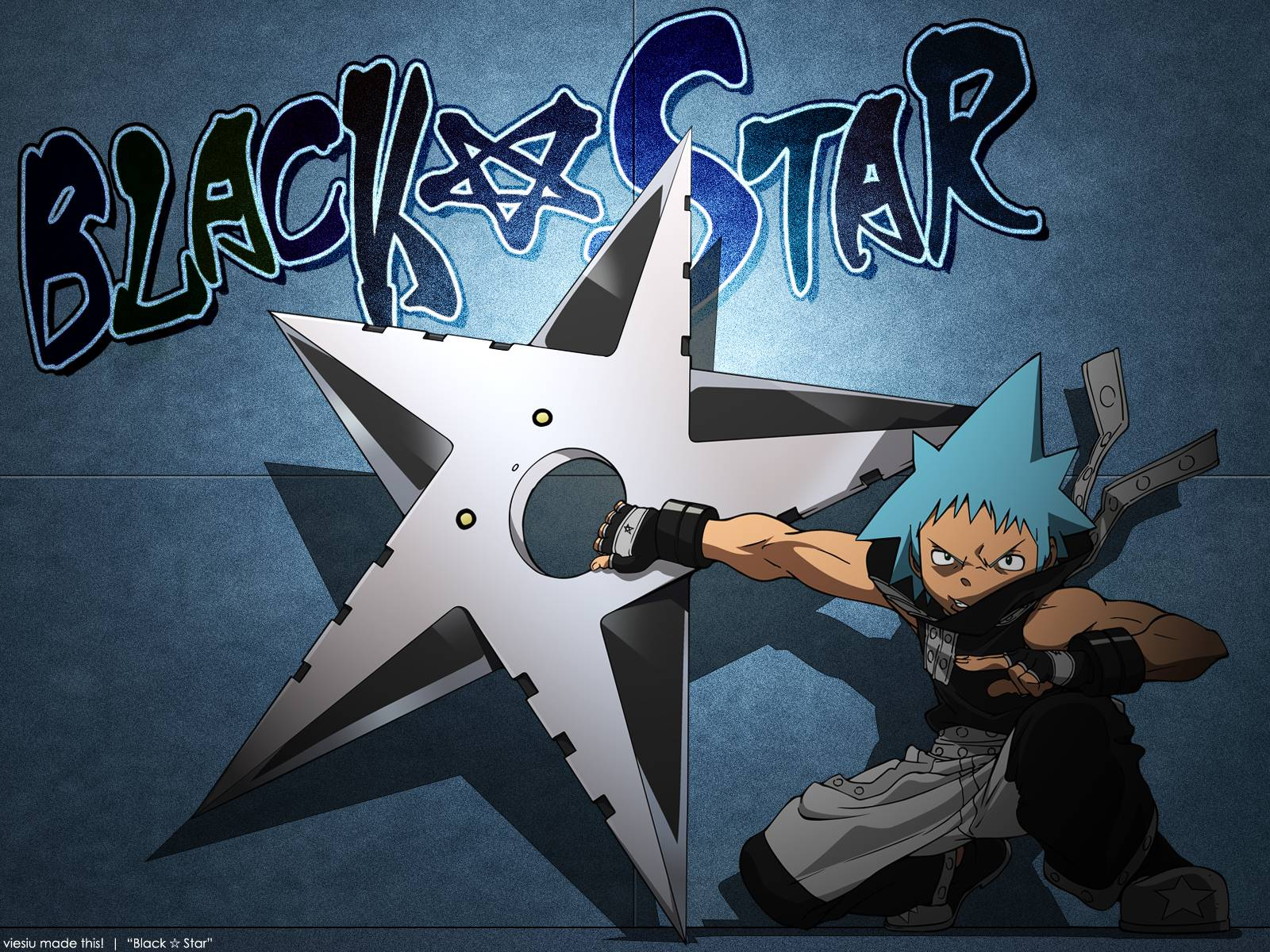 Black Star Soul Eater Wallpapers Top Free Black Star Soul Eater Backgrounds Wallpaperaccess