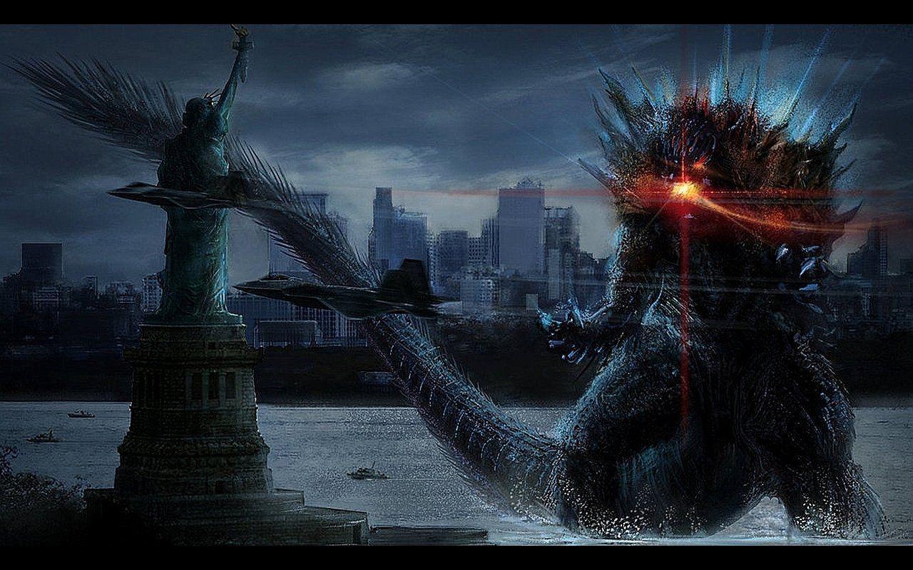 1280x800 Godzilla (2014) hình nền và hình nền