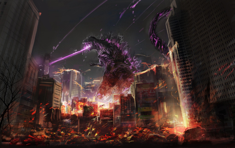 2880x1820 Godzilla người hâm mộ Art 2048x1152 Độ phân giải HD Hình nền 4k