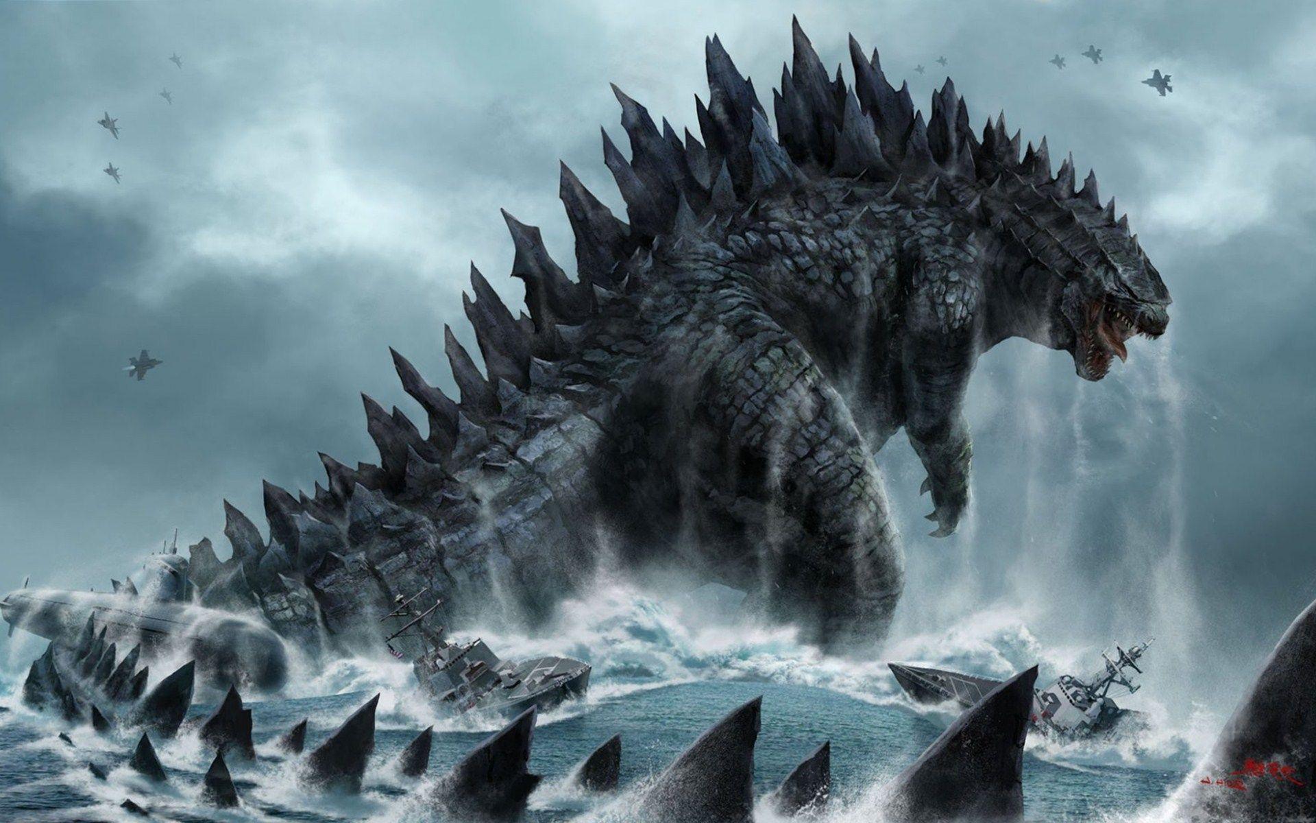 Hình nền Godzilla 1920x1200, Hình ảnh Godzilla định nghĩa HQ tuyệt vời