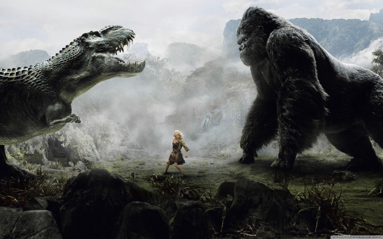 2880x1800 King Kong Vs Godzilla ❤ Hình nền máy tính để bàn HD 4K cho TV 4K Ultra HD