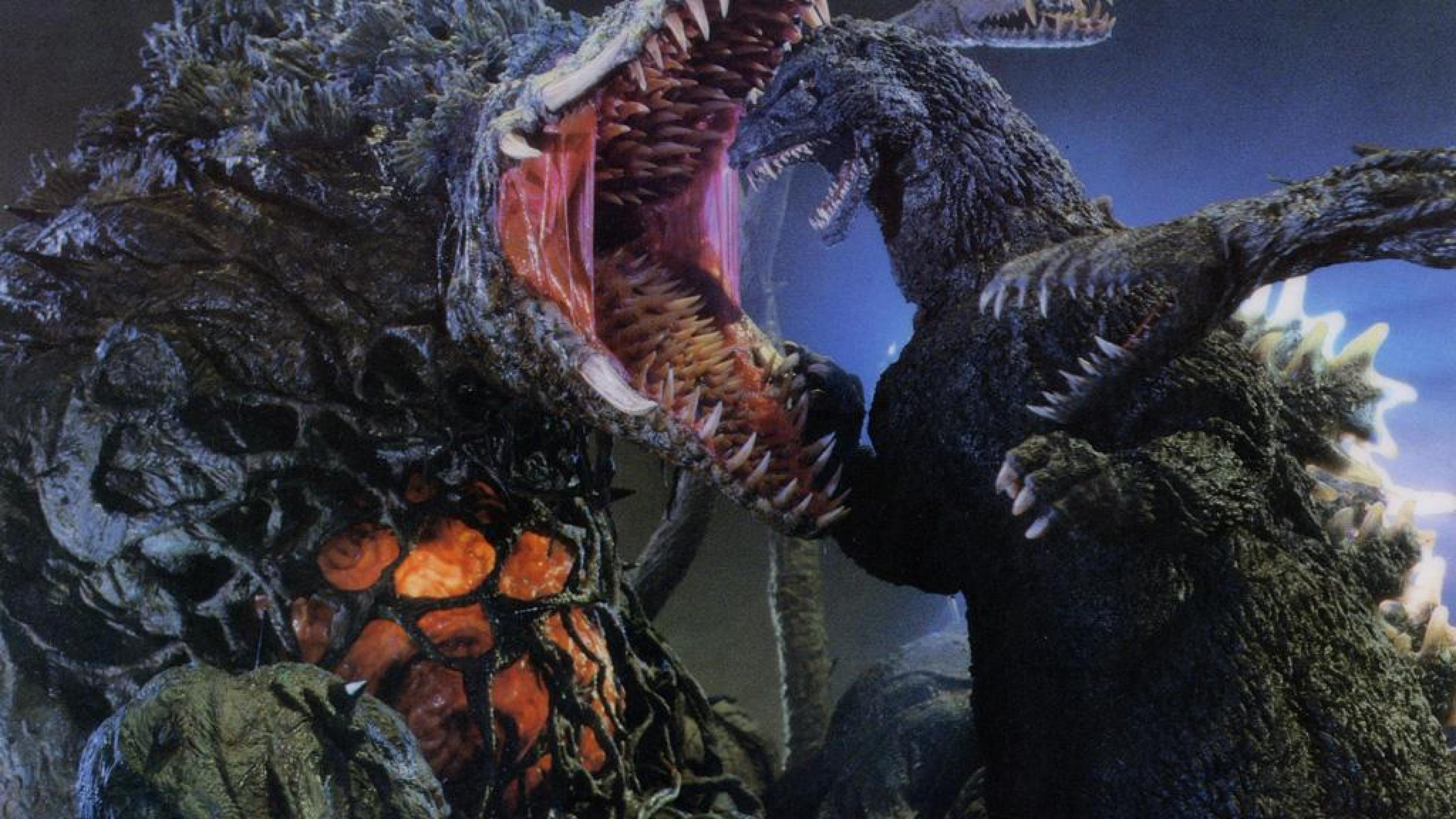 3840x2160 Godzilla vs biollante Movie Hình nền HD, Nền máy tính