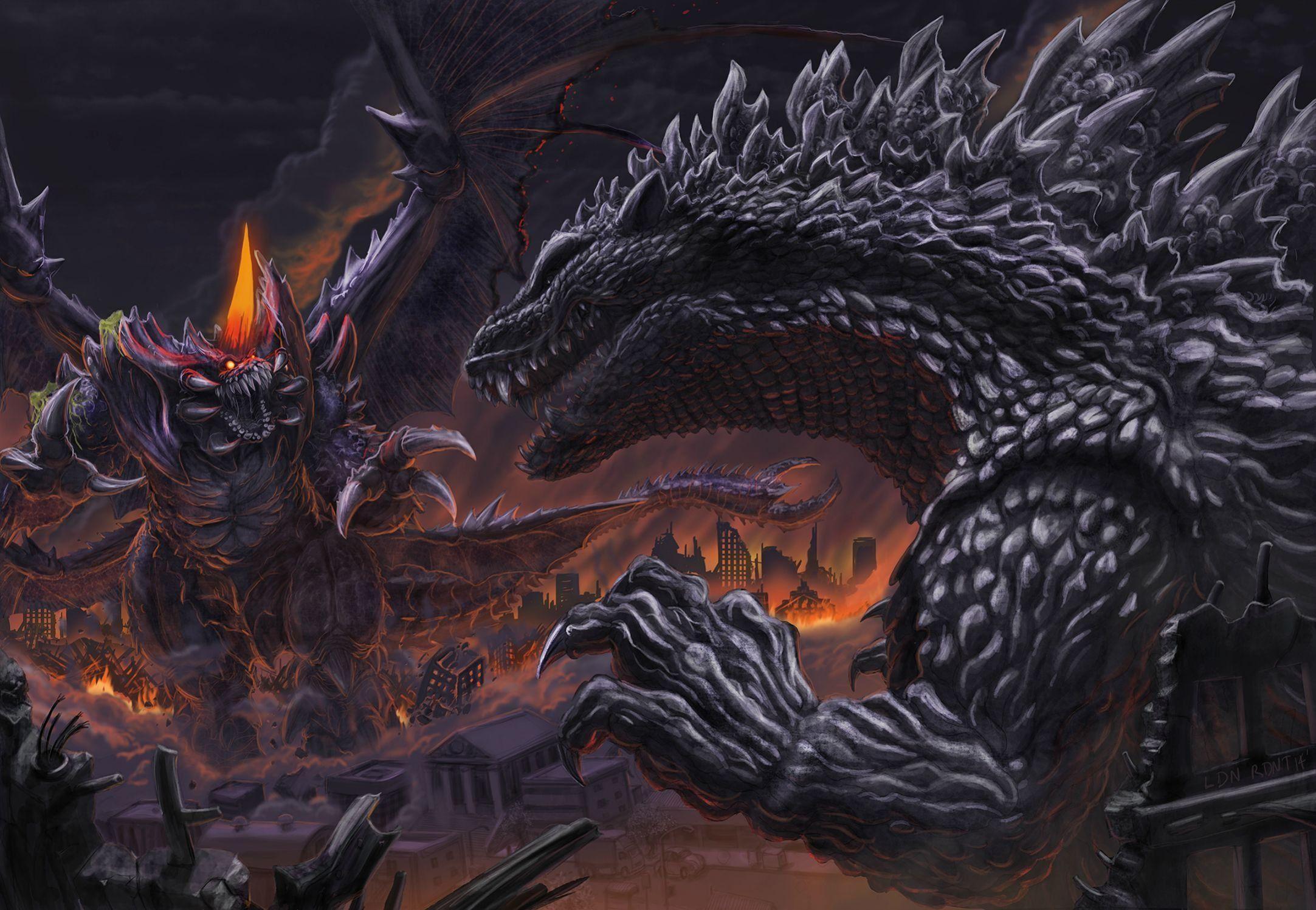 2165x1497 Hình nền Godzilla mát mẻ - tải xuống miễn phí