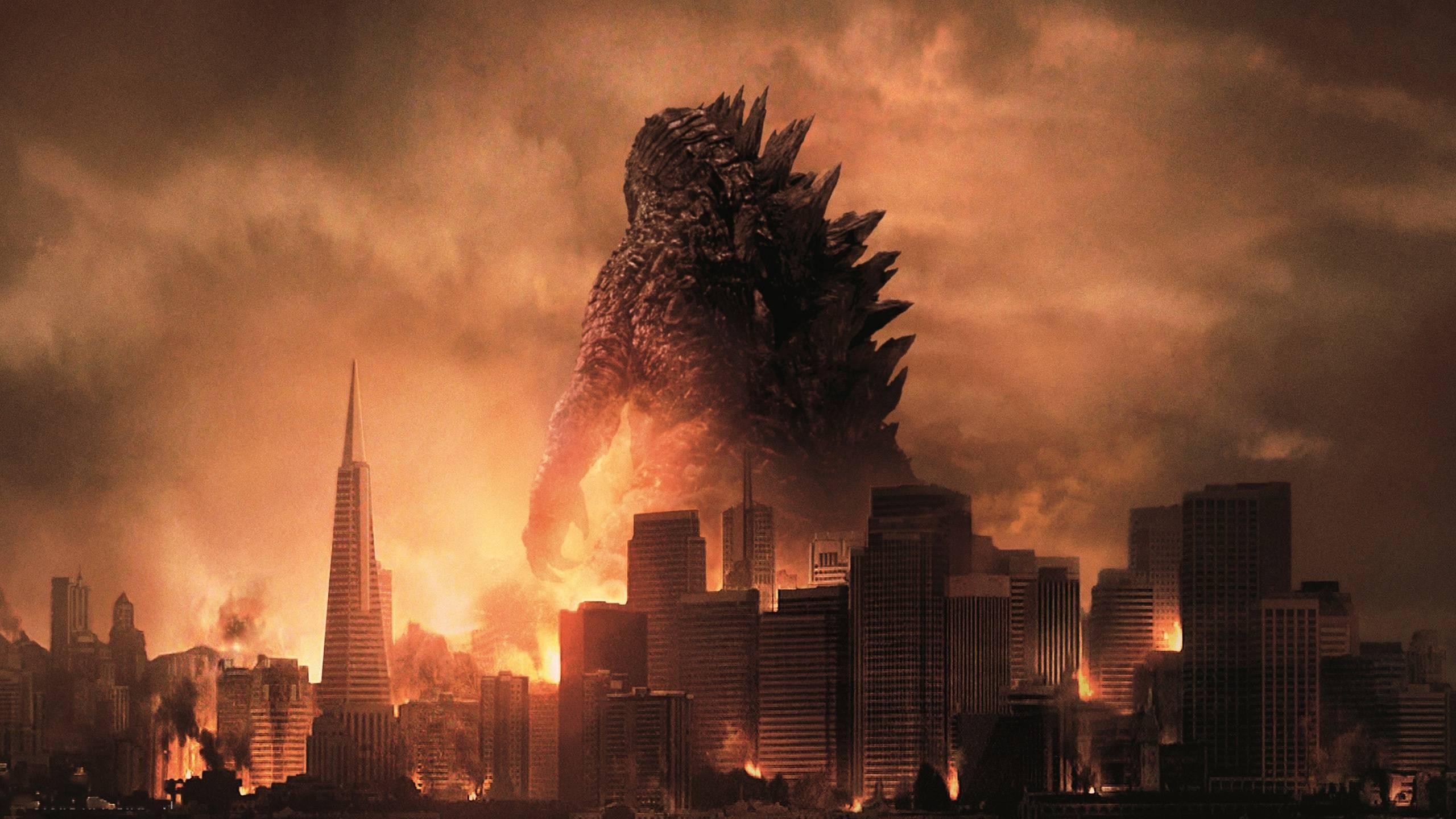 2560x1440 Godzilla hình nền