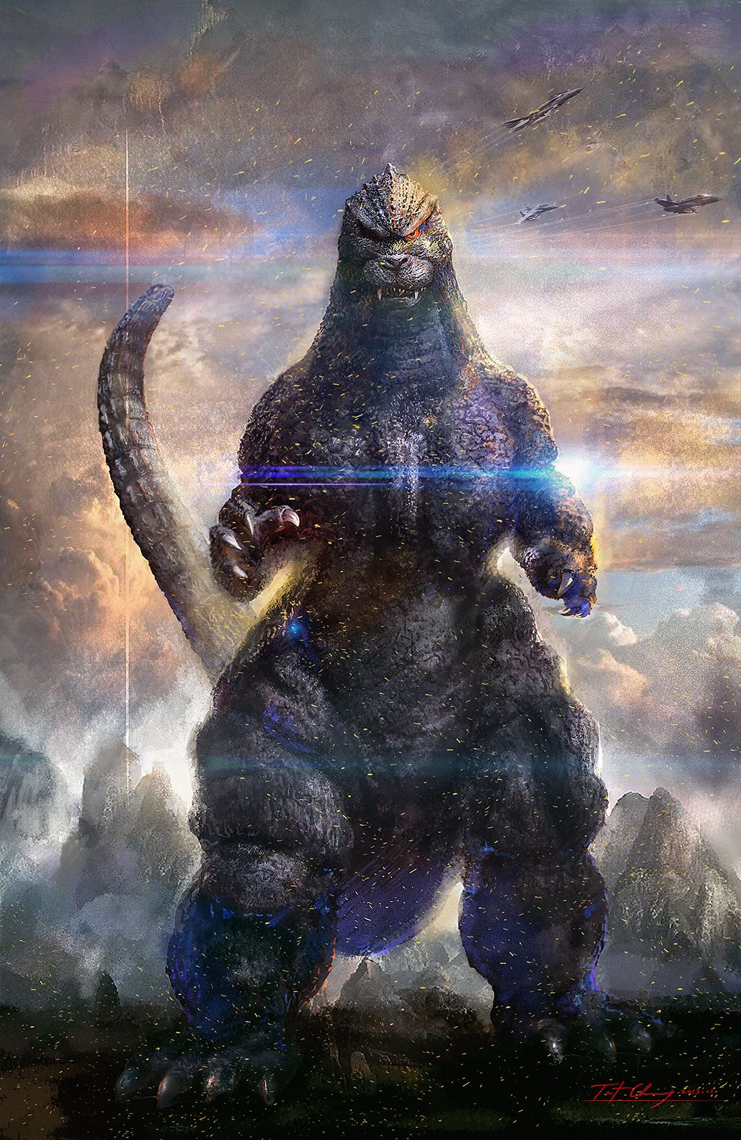 Godzilla 4k Wallpapers Top Free Godzilla 4k Backgrounds