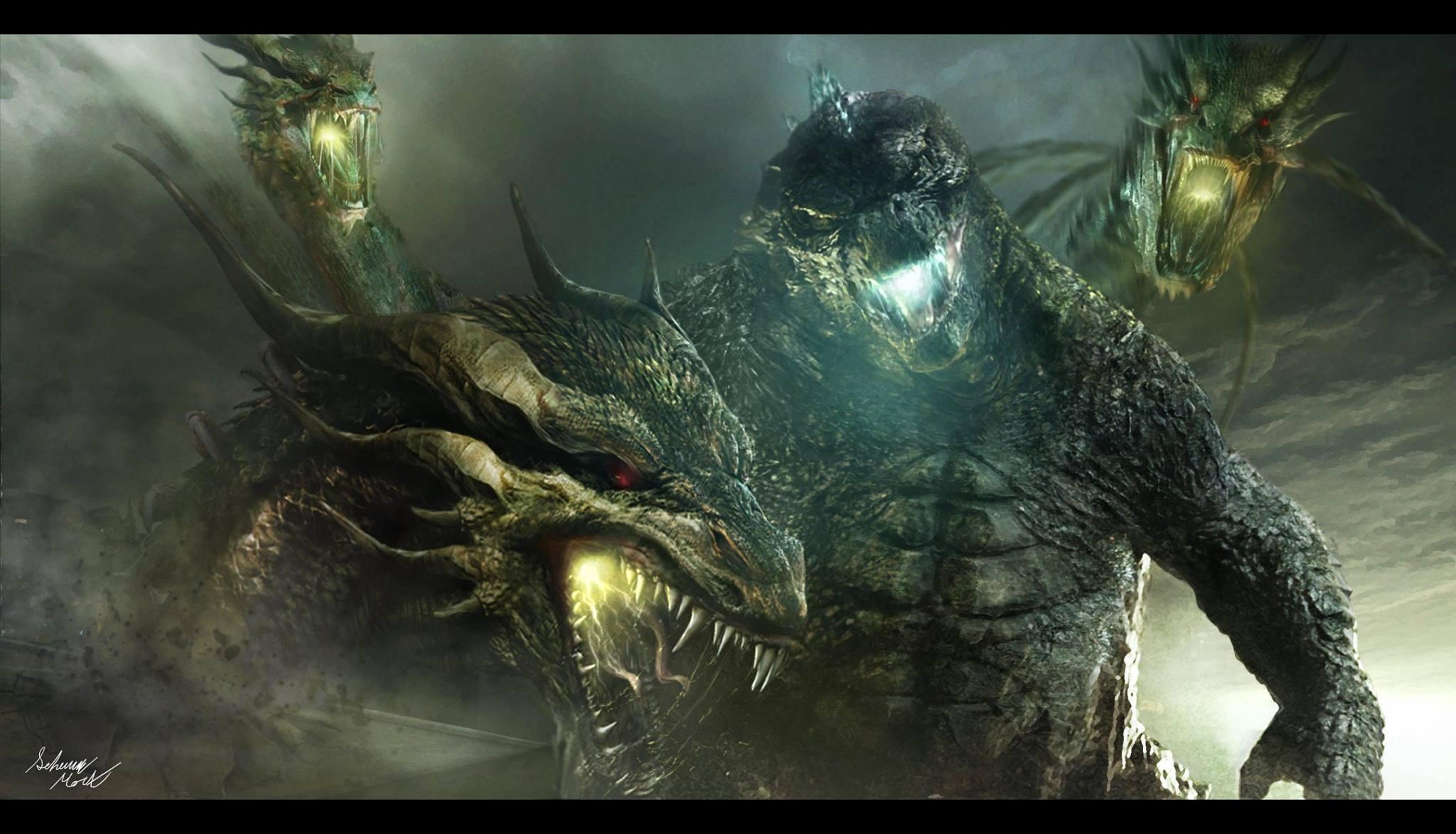 Hình nền Godzilla 2048x1174, Khoa học viễn tưởng, Hình ảnh HQ Godzilla