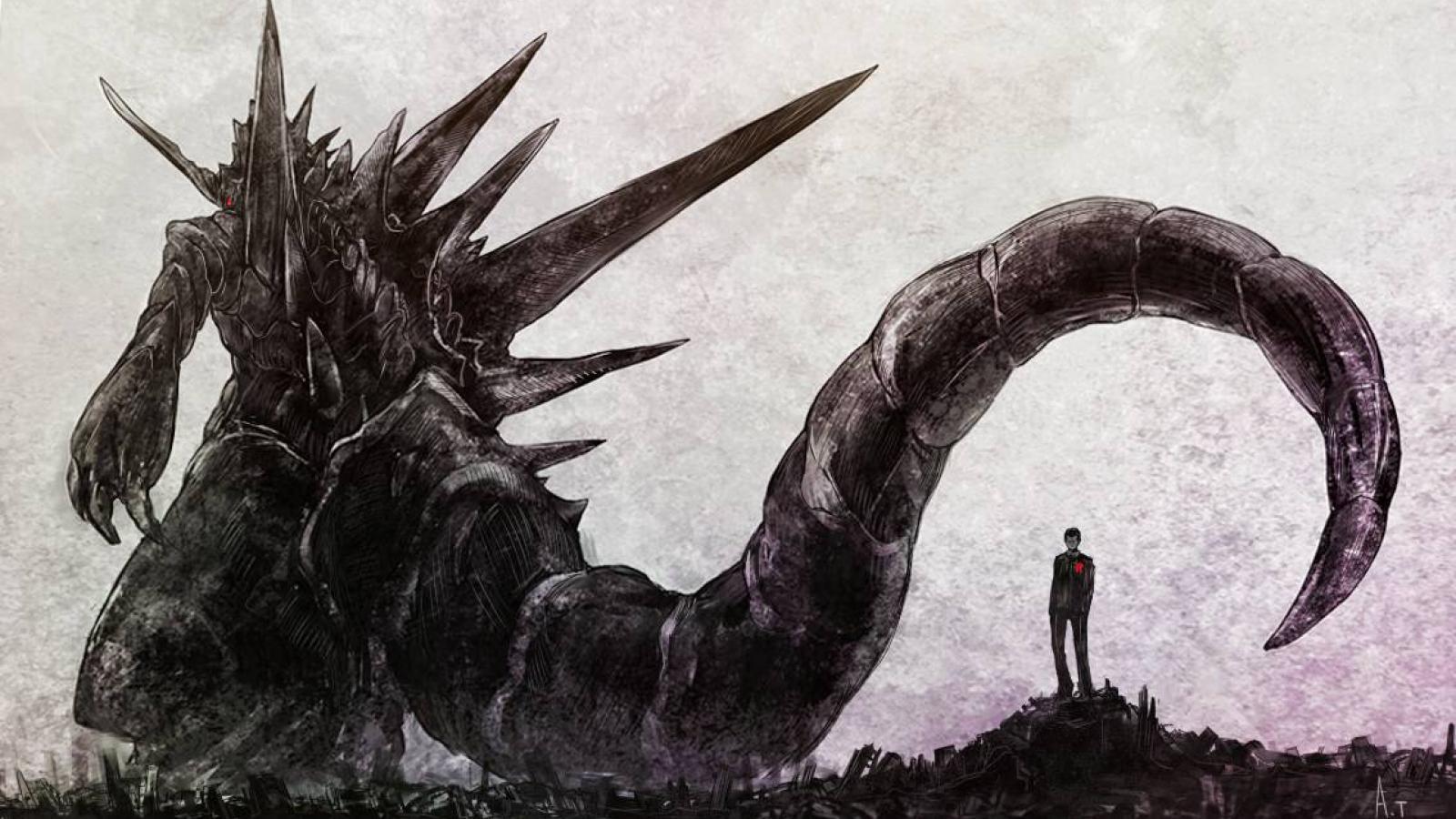 Hình nền 1600x900 Godzilla