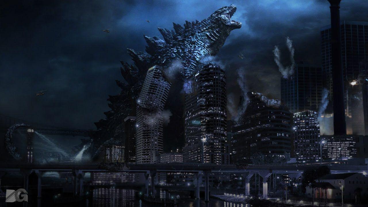1280x720 Godzilla 2014 Wallpaper Desktop là hình nền 4K