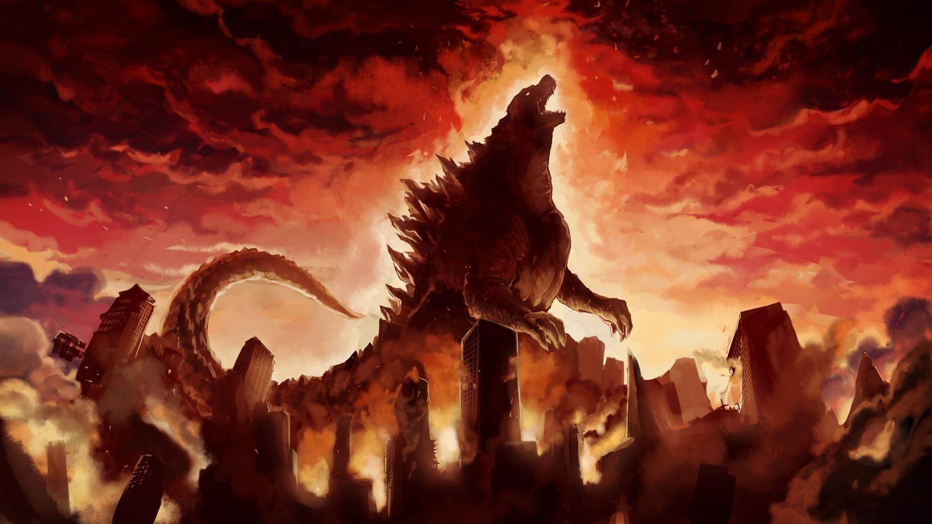 1920x1080 Godzilla (2014) Hình nền 16 - 1920 X 1080