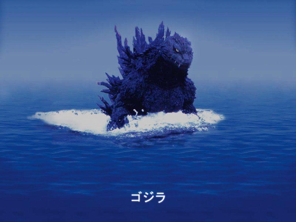 Hình nền và hình nền HD 1024x768 Godzilla