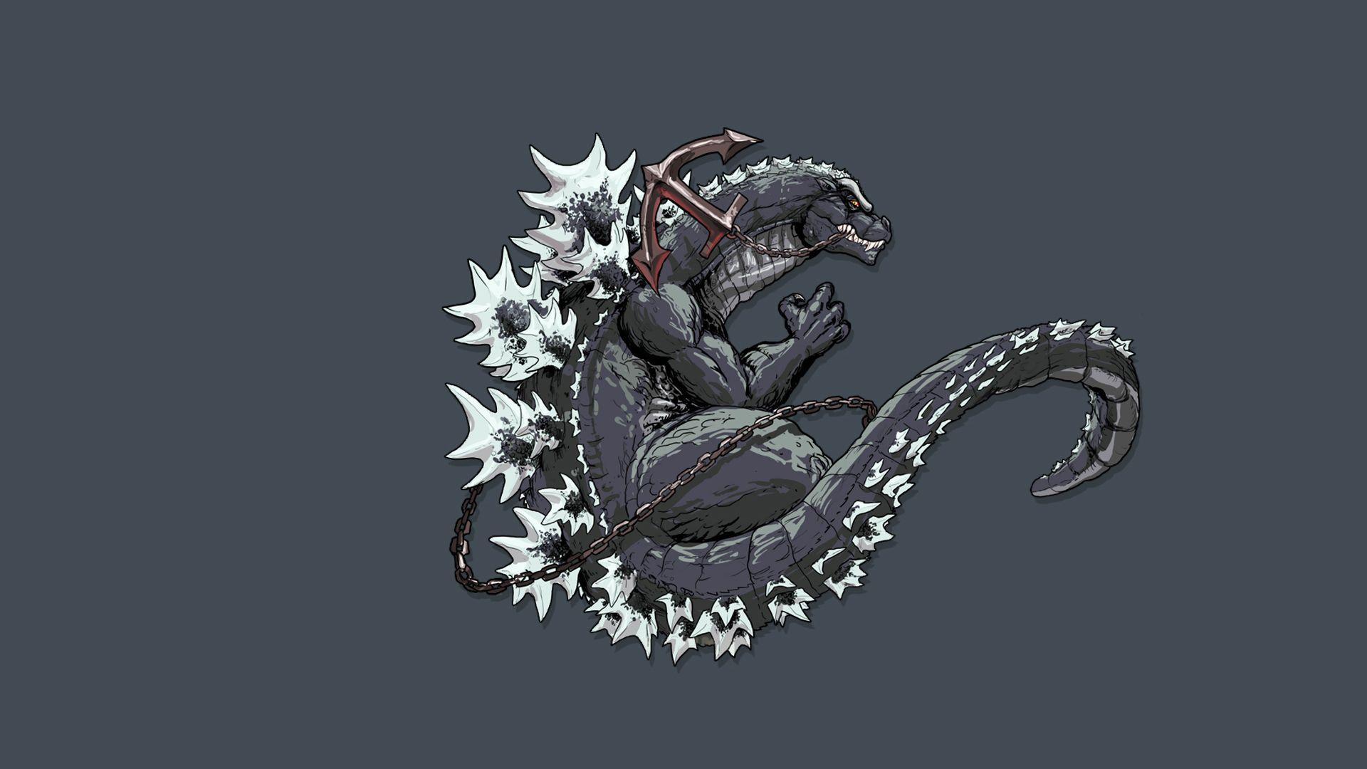 Hình nền điện thoại Godzilla 1920x1080