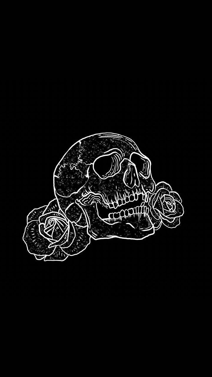 Skulls Tumblr Aesthetic: Skull Aesthetic Wallpapers
