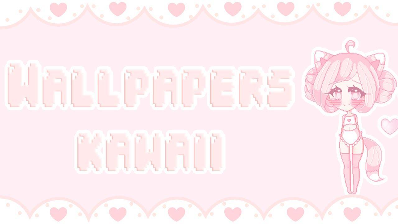Pink Kawaii Wallpapers Top Free Pink Kawaii Backgrounds Wallpaperaccess