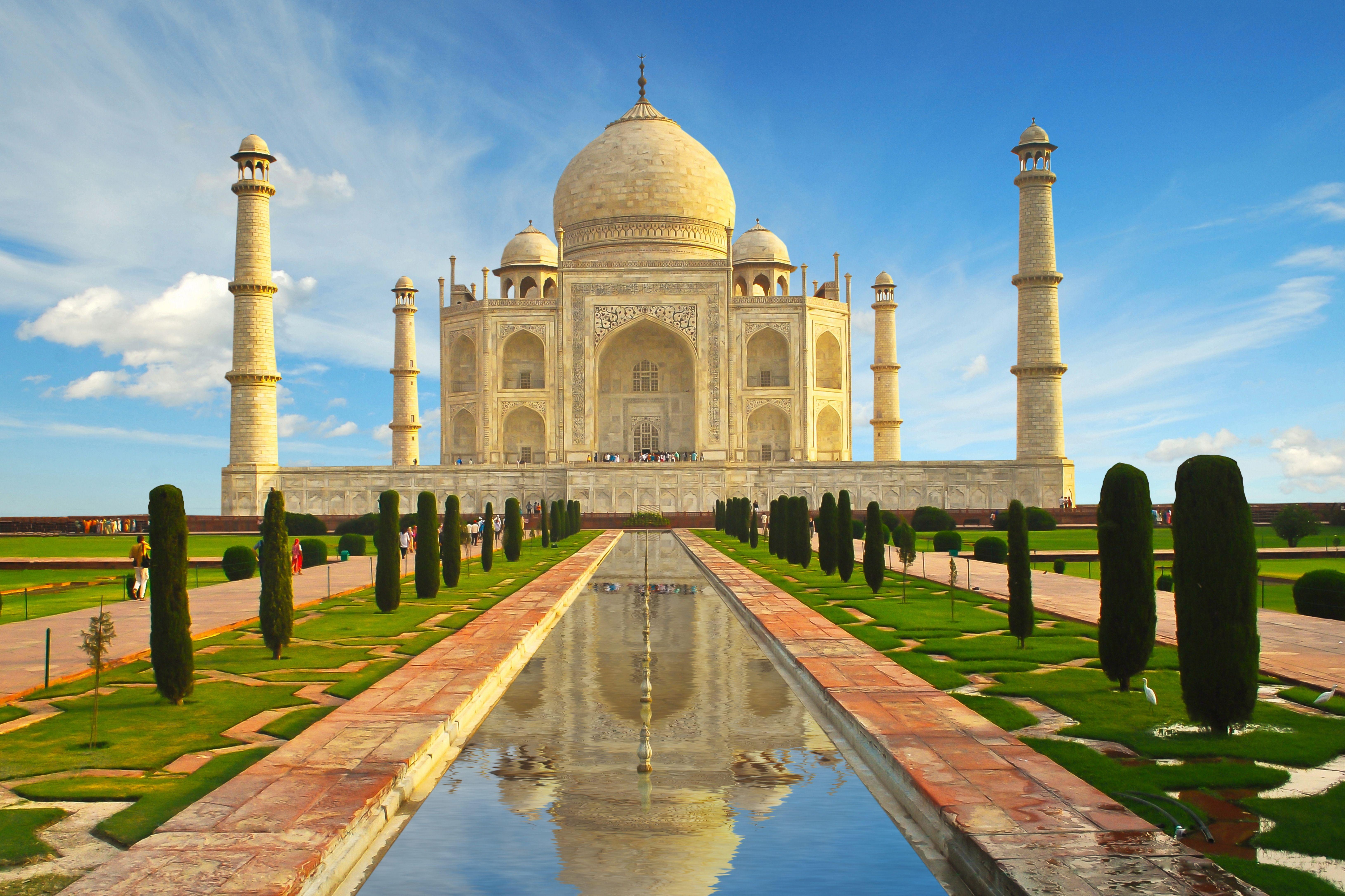 Taj mahal wallpapers top free taj mahal backgrounds - Taj mahal background hd ...