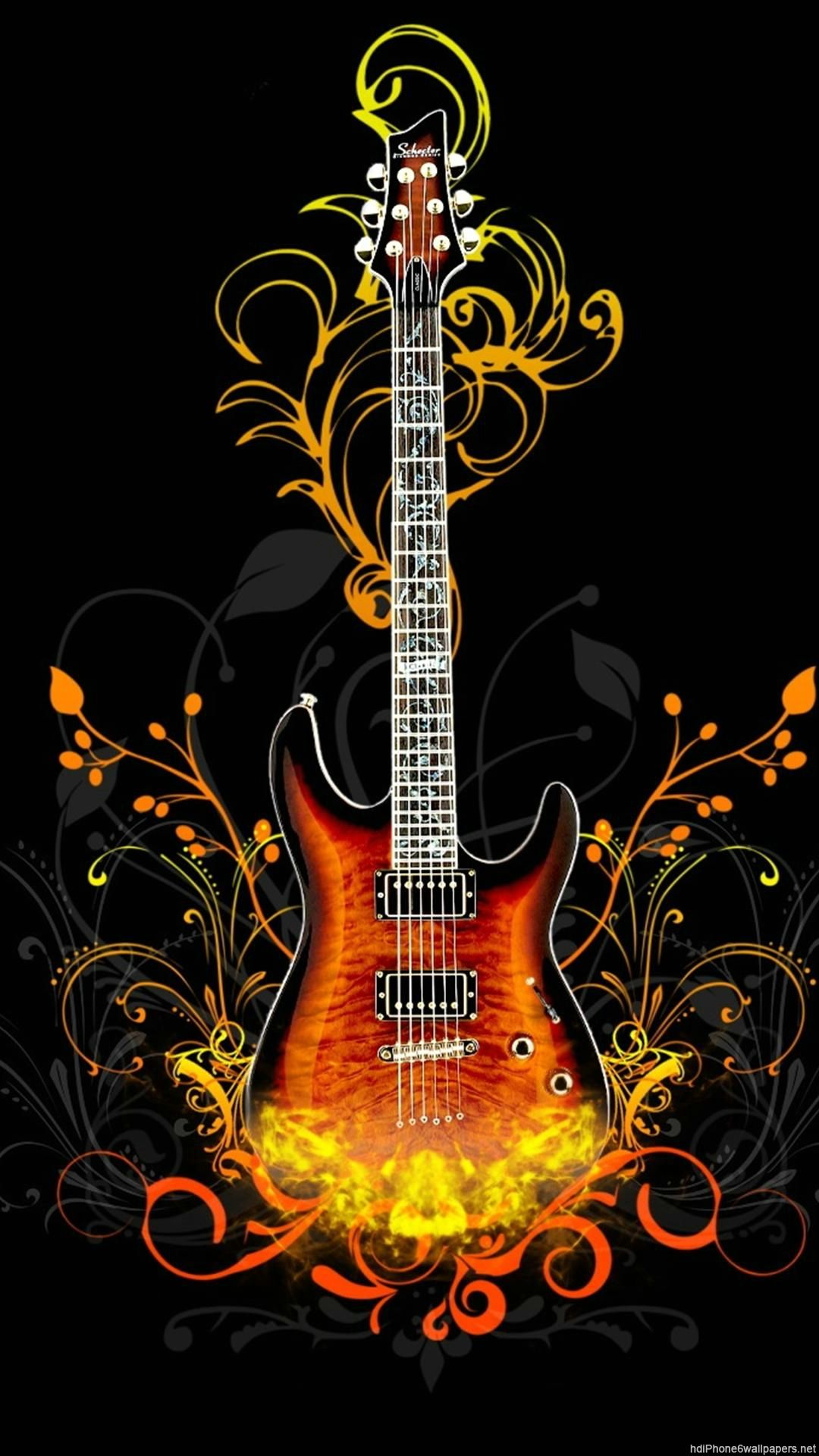 Guitar Art Wallpapers Top Free Guitar Art Backgrounds Wallpaperaccess
