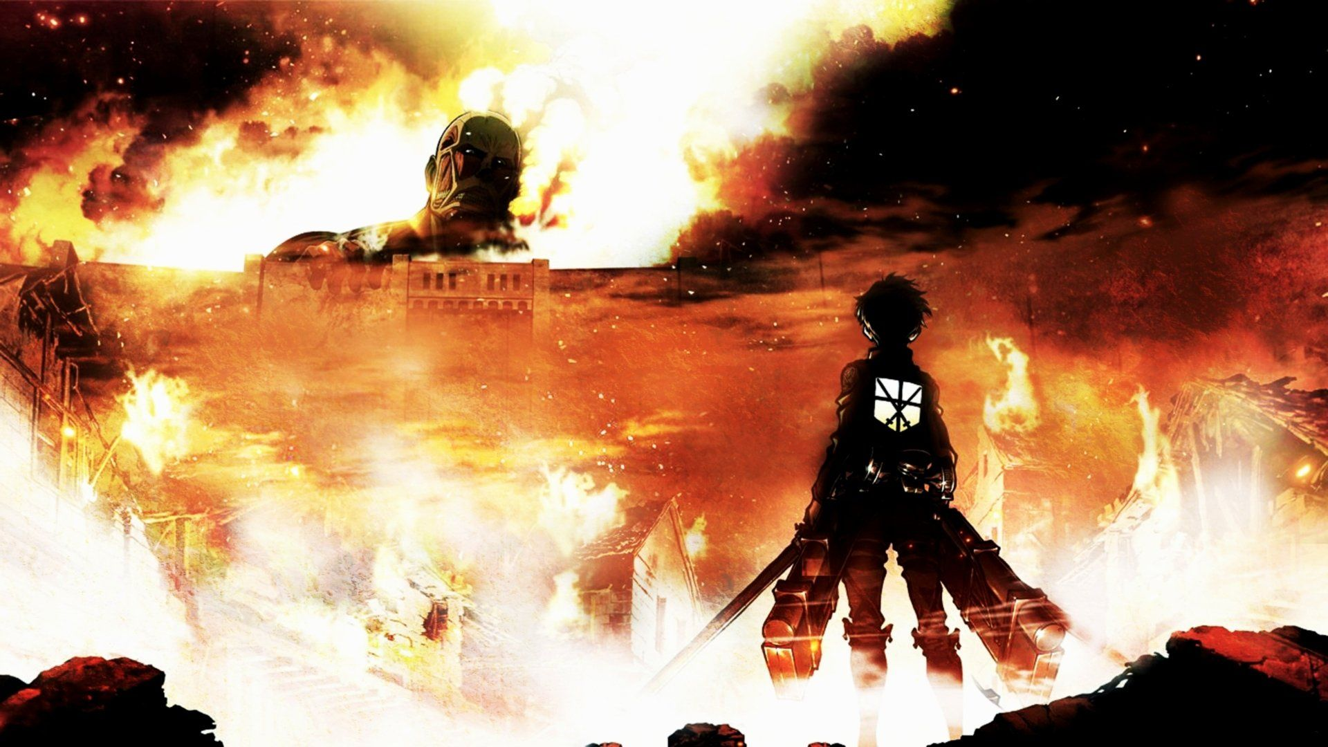 Attack On Titan Desktop Wallpapers Top Free Attack On Titan