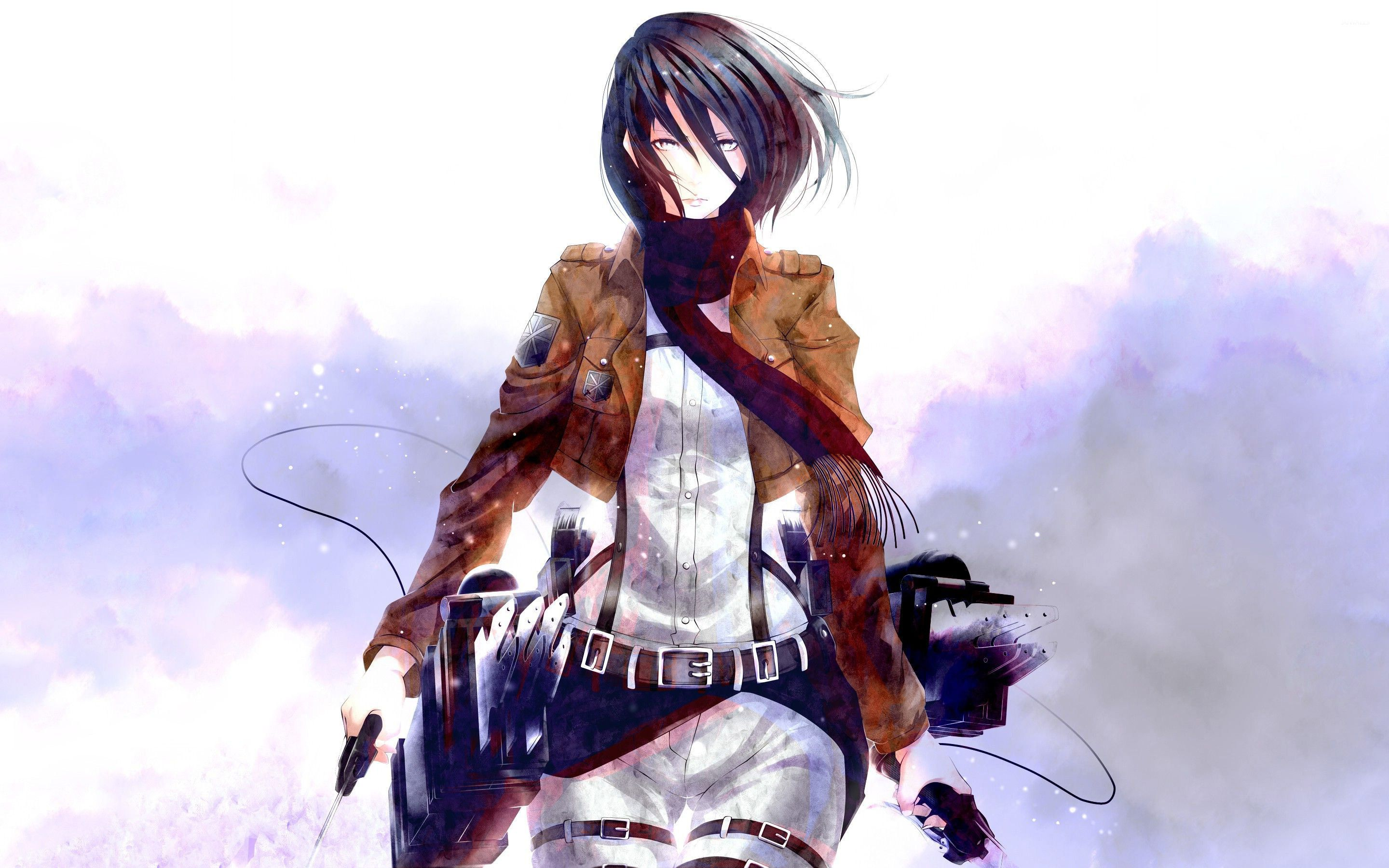 Mikasa Ackerman Wallpapers Top Free Mikasa Ackerman Backgrounds Wallpaperaccess