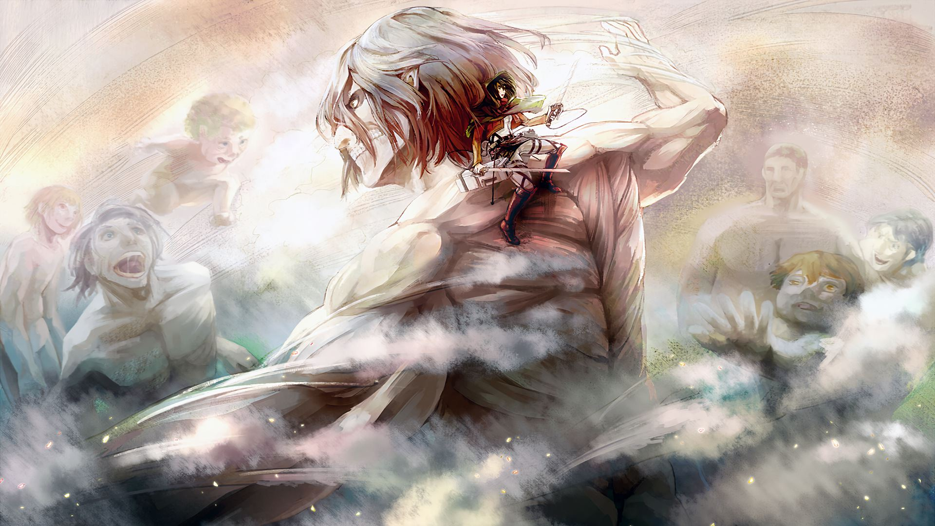 Attack On Titan Anime Wallpapers Top Free Attack On Titan Anime Backgrounds Wallpaperaccess