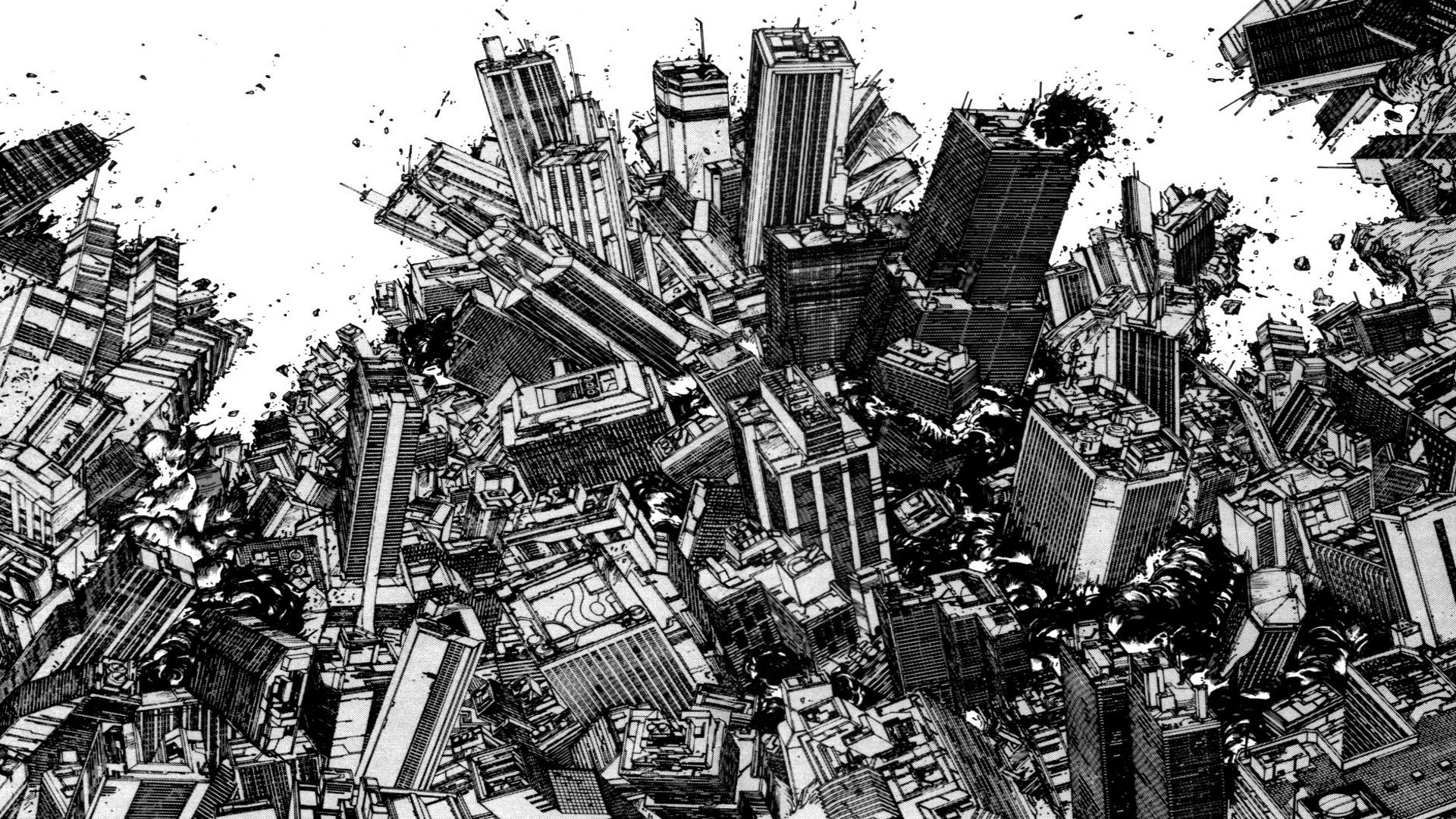 Akira Manga Wallpapers Top Free Akira Manga Backgrounds Wallpaperaccess