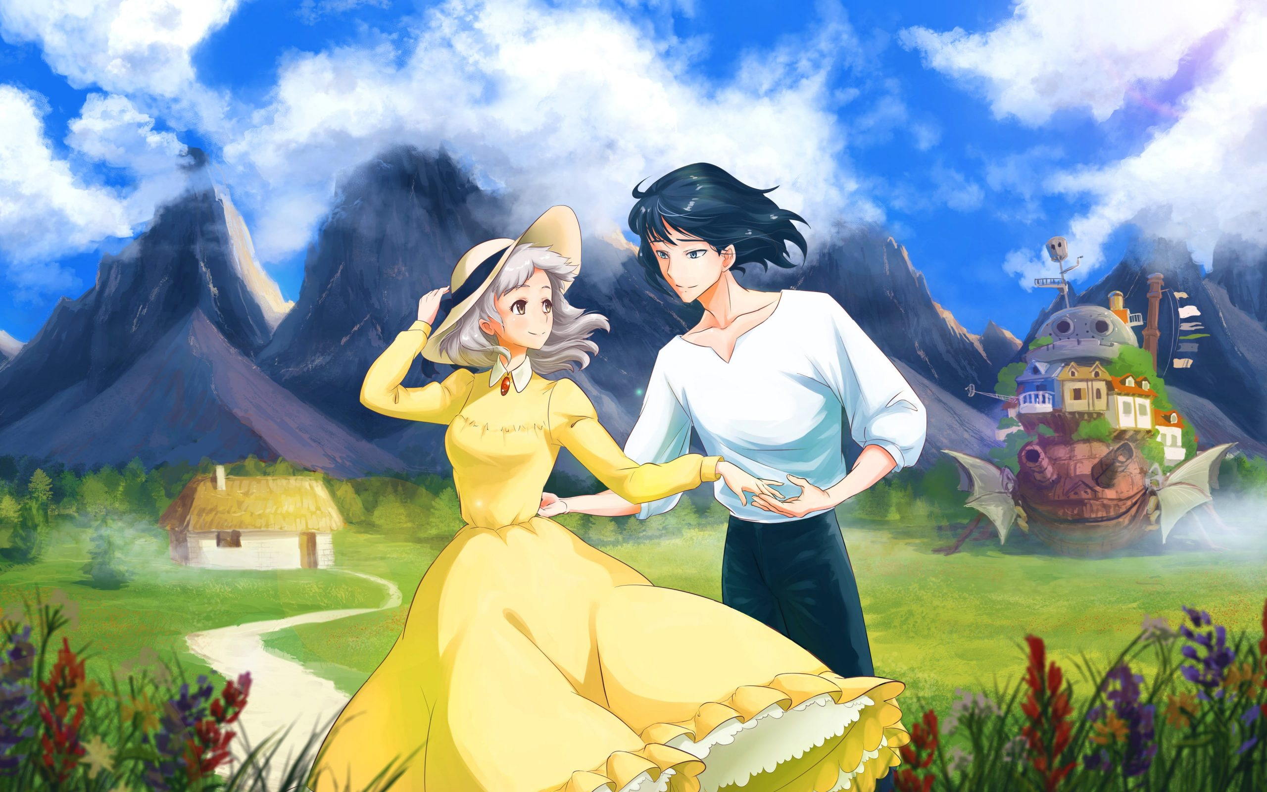 Howl S Moving Castle Wallpapers Top Free Howl S Moving Castle