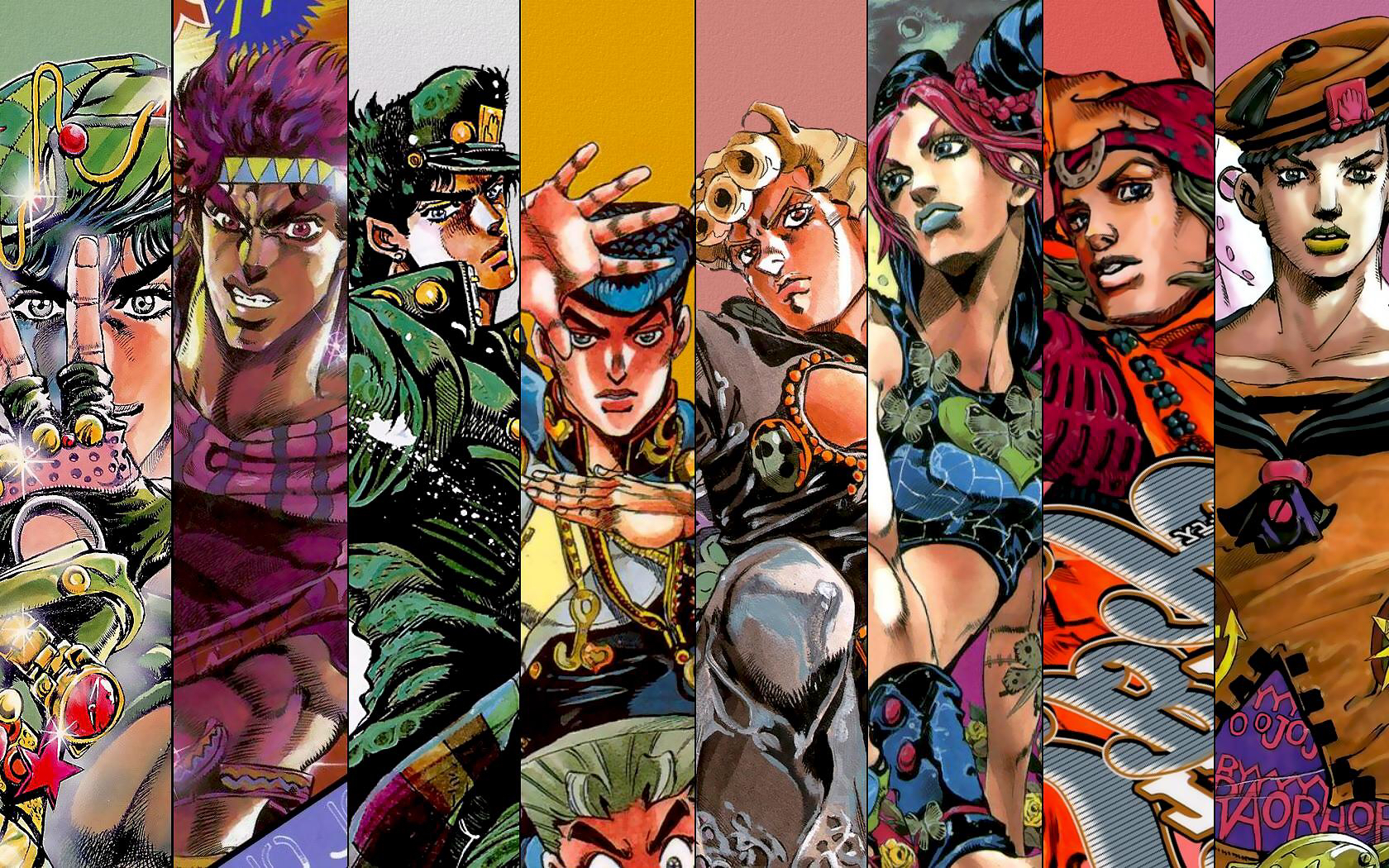 Jojo Bizarre Wallpapers Top Free Jojo Bizarre Backgrounds